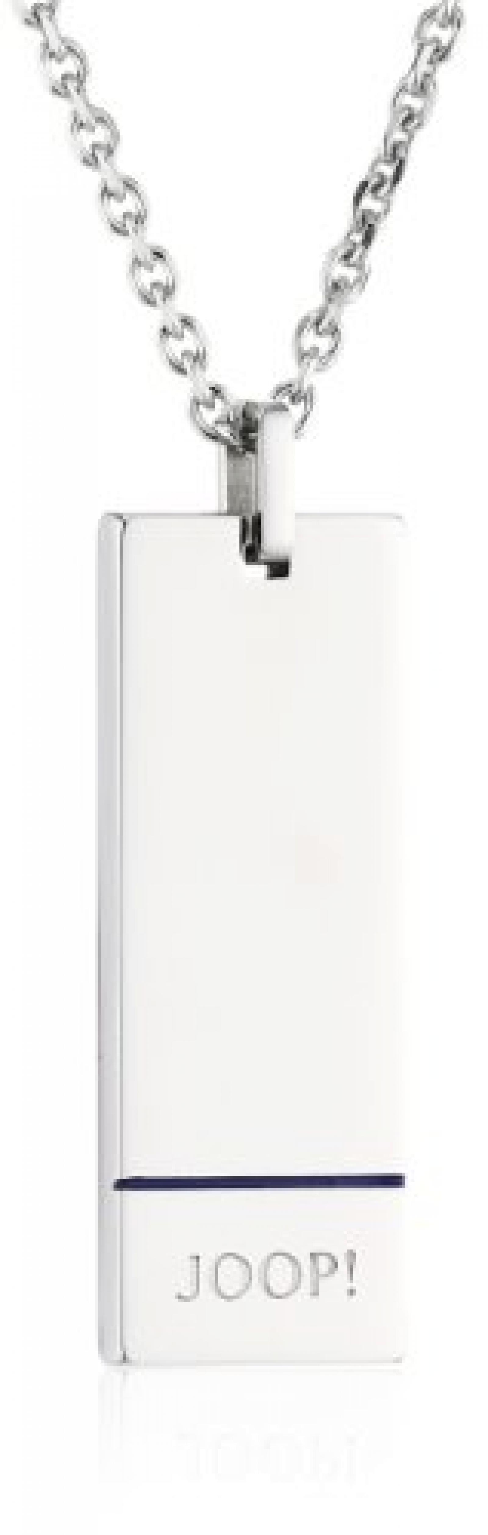 Joop Herren-Halskette George Edelstahl poliert ca. 50 cm (45 + 5 cm) JPNL10525B500