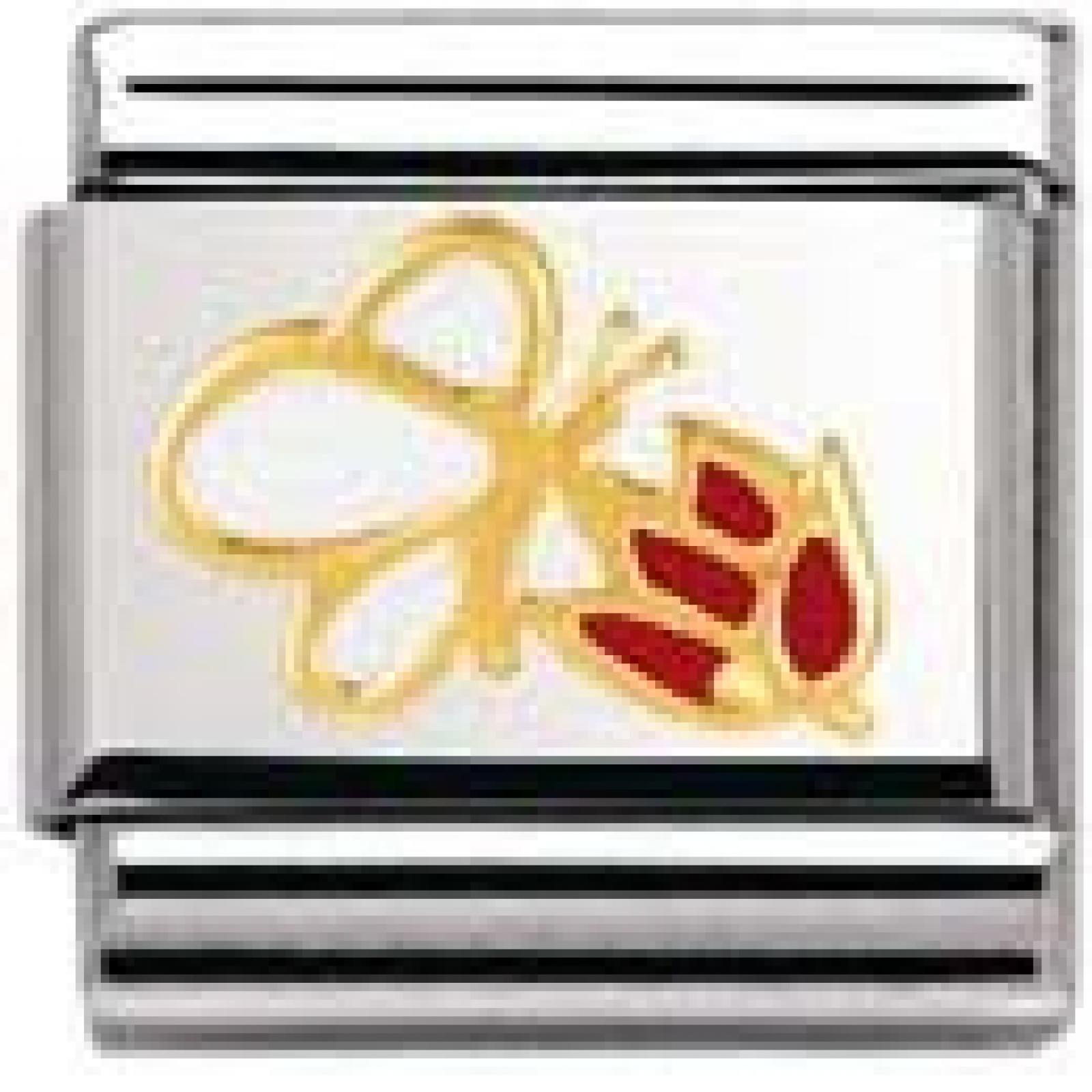 Nomination Composable Classic NATURA (Blume m. Schmetterling) (030278-04)