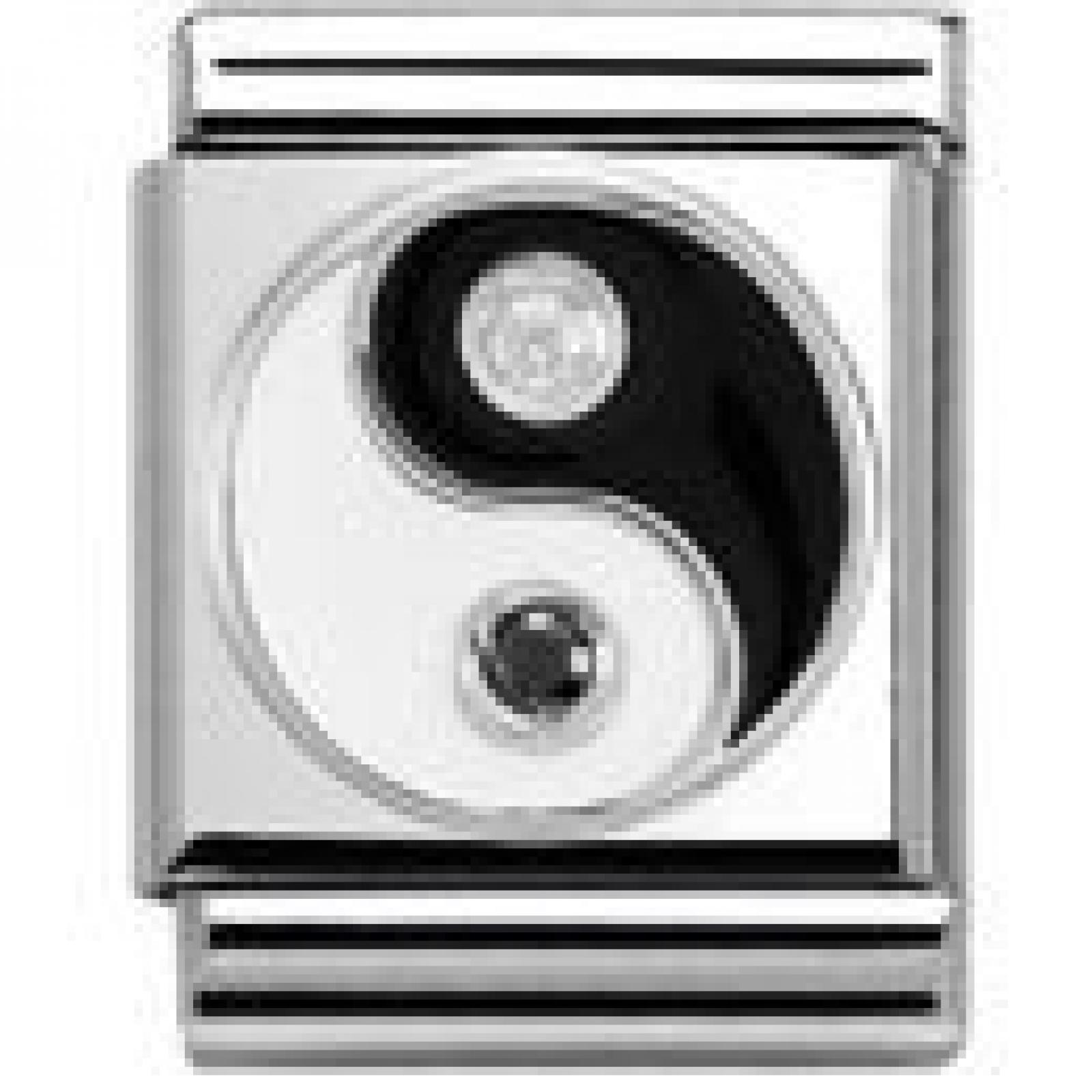 Nomination SYMBOLE Zusammensetzbar Big (Yin Yang) 332305-06