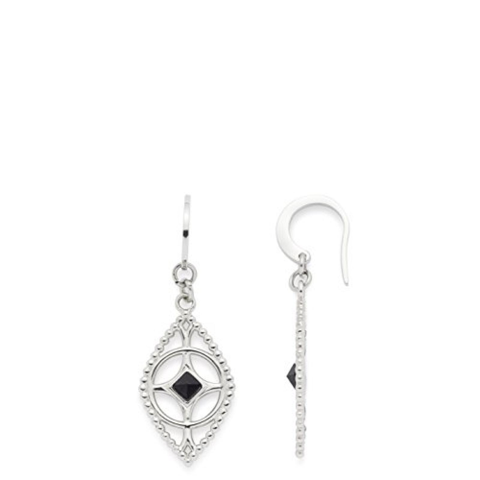 Leonardo Jewels Damen-Ohrhänger Edelstahl Glas Grazile 4.3 cm 015352