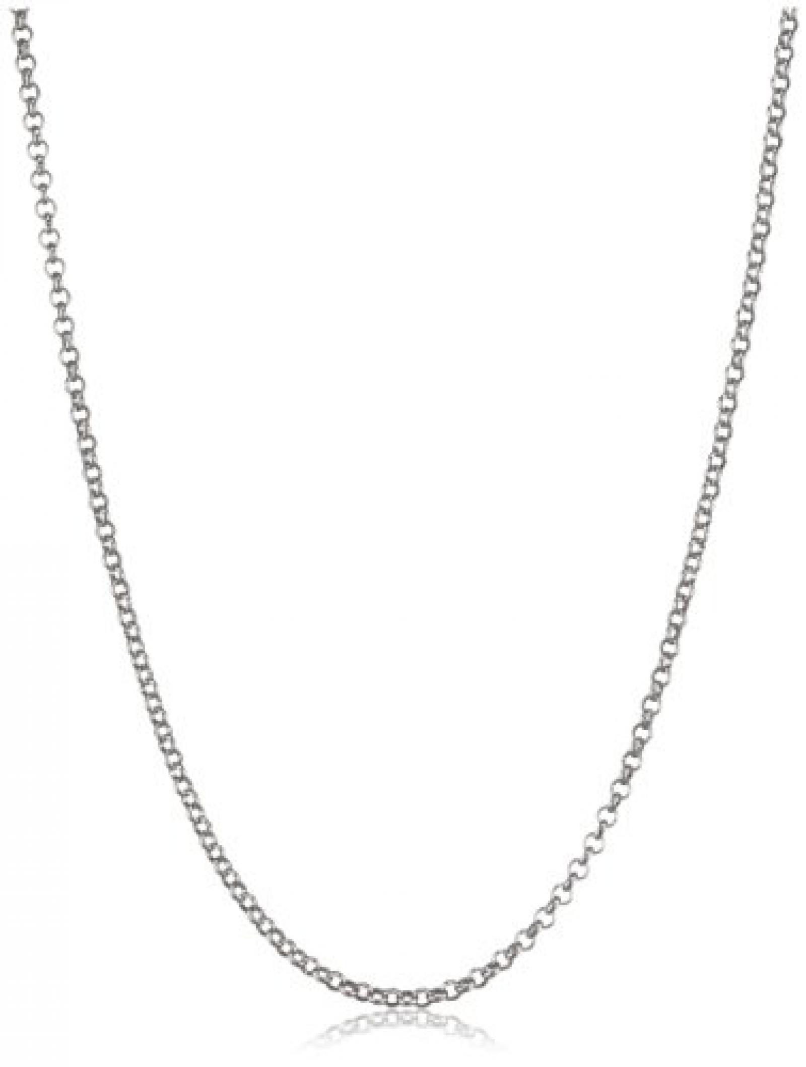 Dyrberg / Kern Damen-Halschmuck Pila 100 Shiny Silber 329517