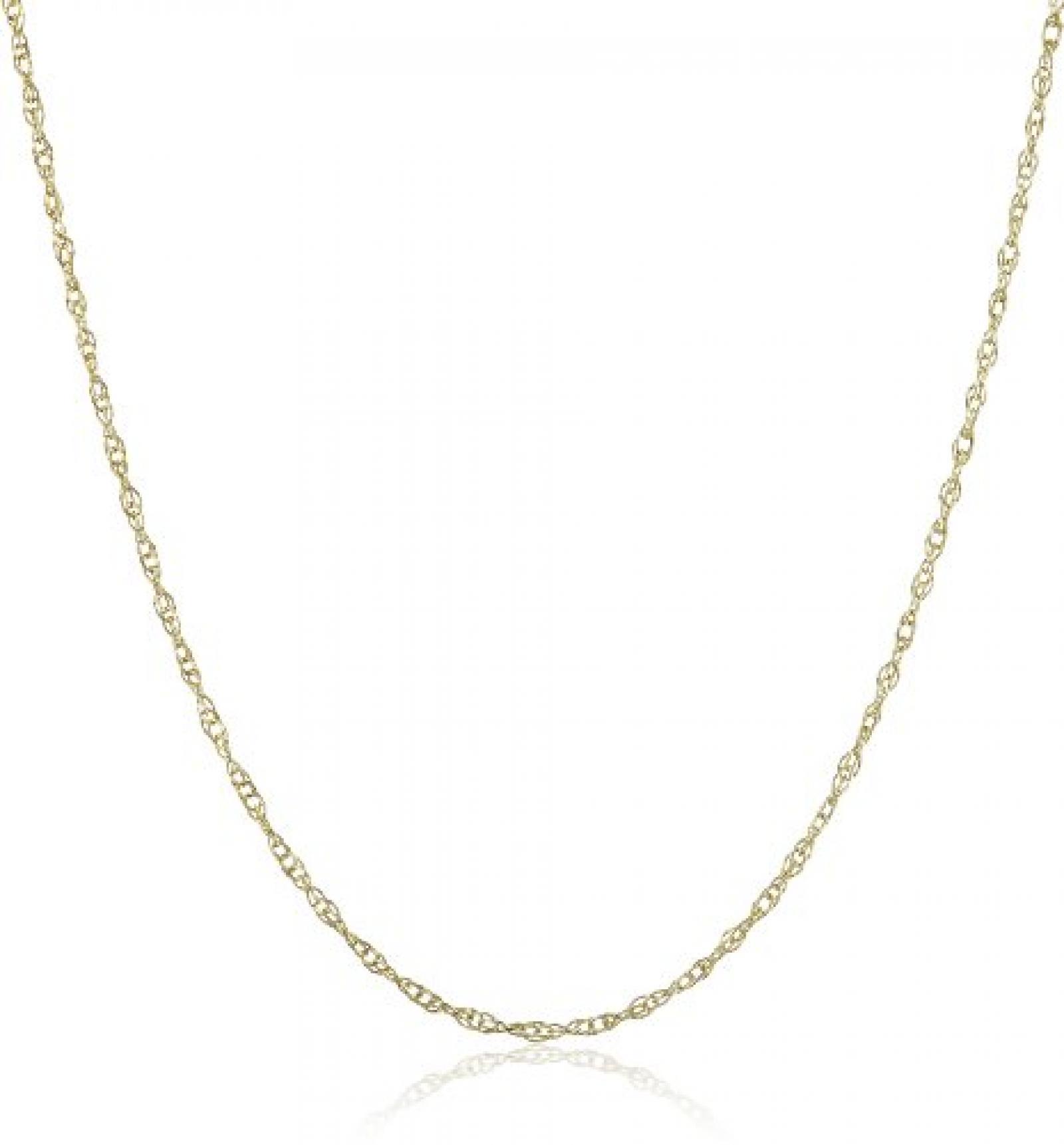 Amor Jewelry Damen-Halskette 8 Karat 333 Gelbgold 338967