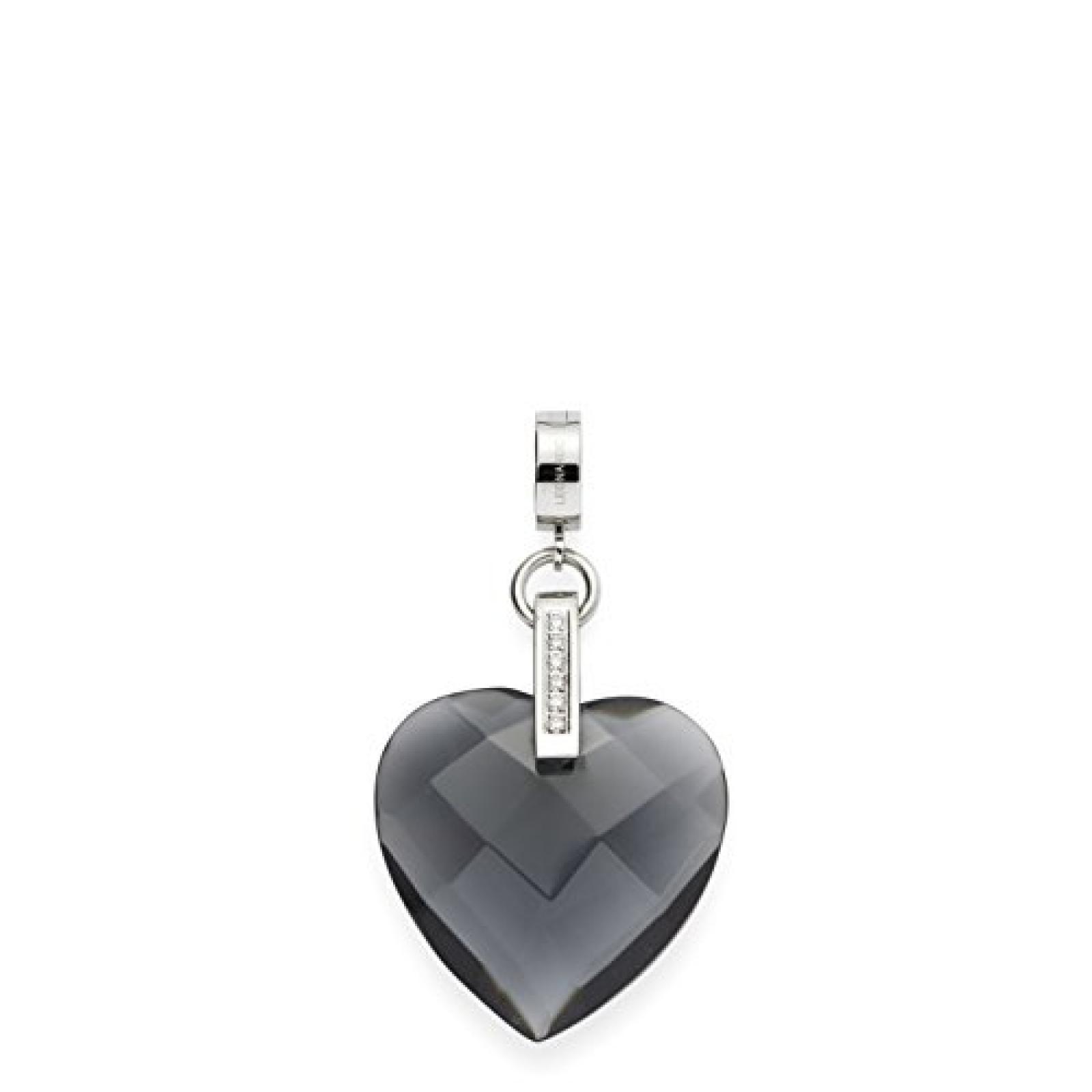 Leonardo Jewels Damen-Anhänger Edelstahl Glas Darlins 5.5 cm 015375