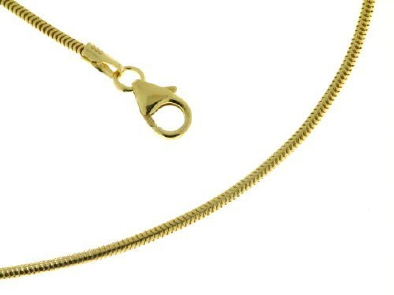 BOB C. Schlangenkette 1,5 mm 585er Gelbgold 122333