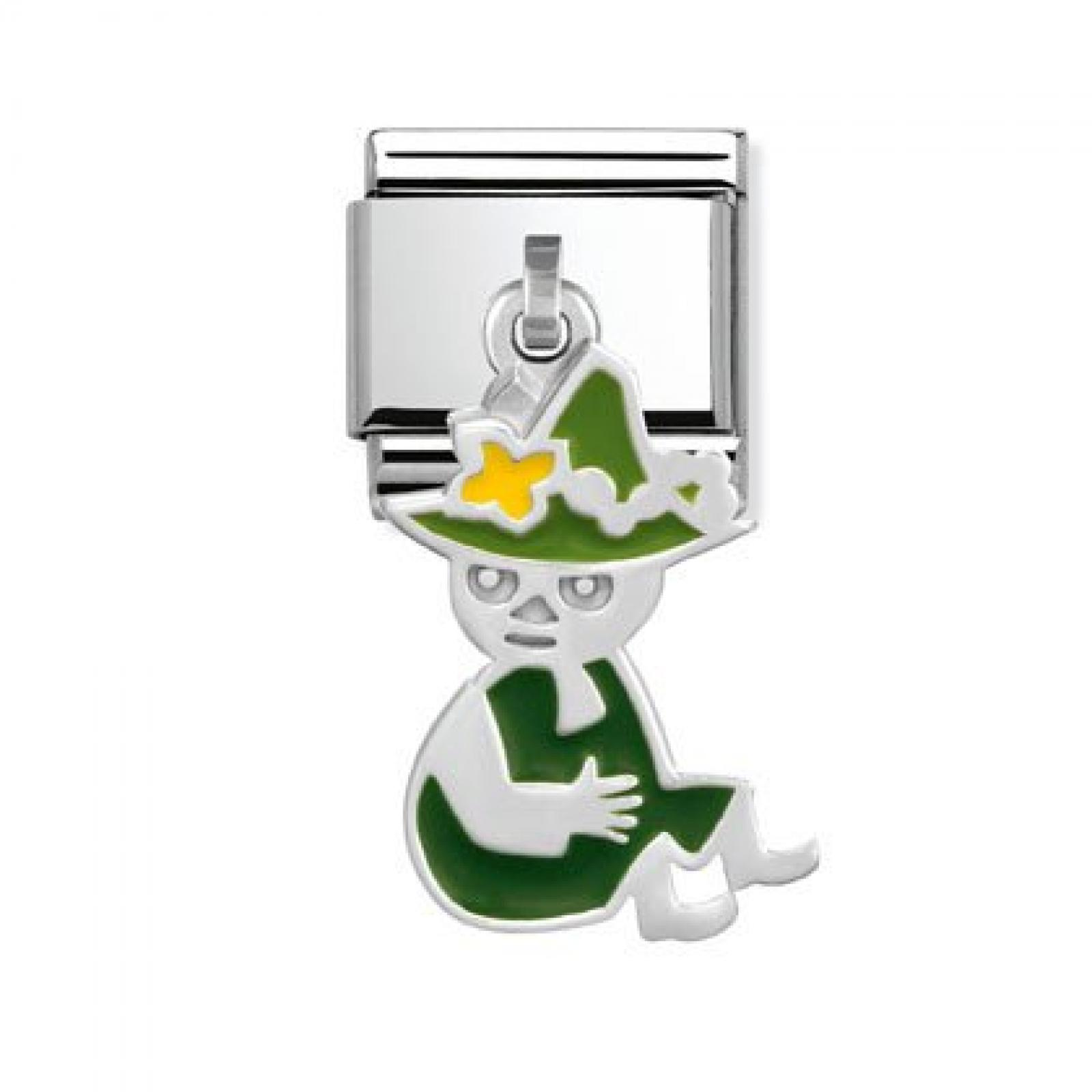 Nomination Composable Classic CHARMS MOOMIN (Snufkin sitzend) 031783-21