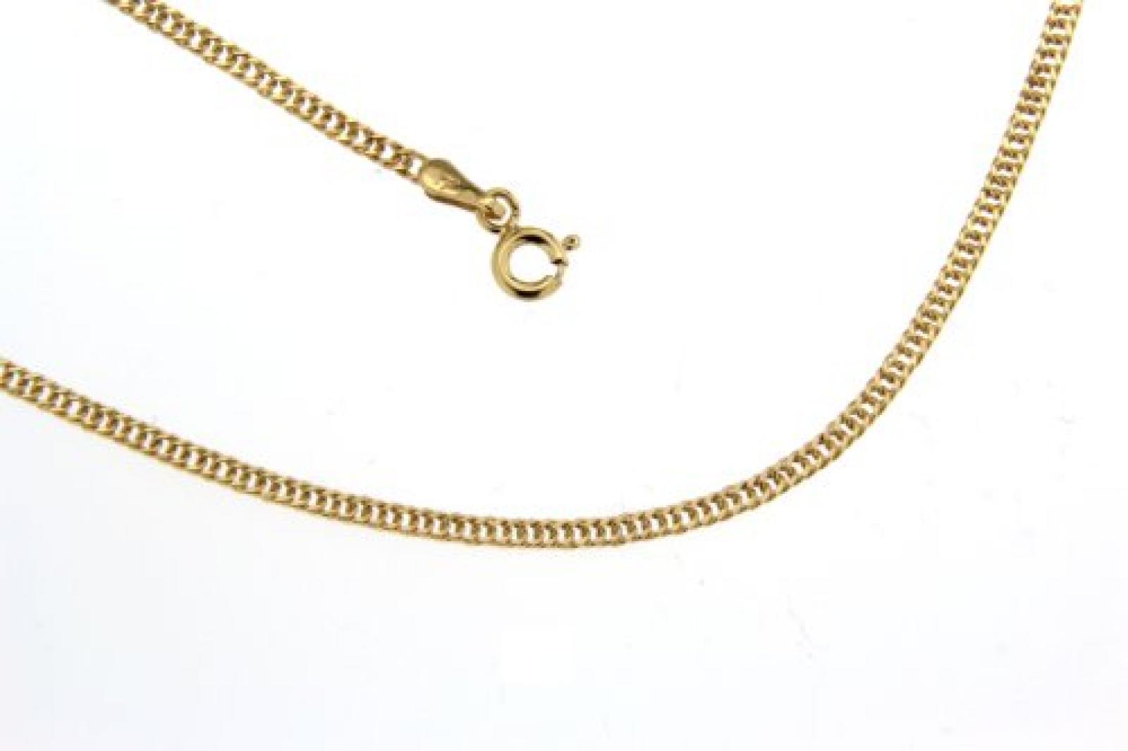 BOB C. Damen-Halskette 9 Karat 375 Gelbgold Panzer 237211
