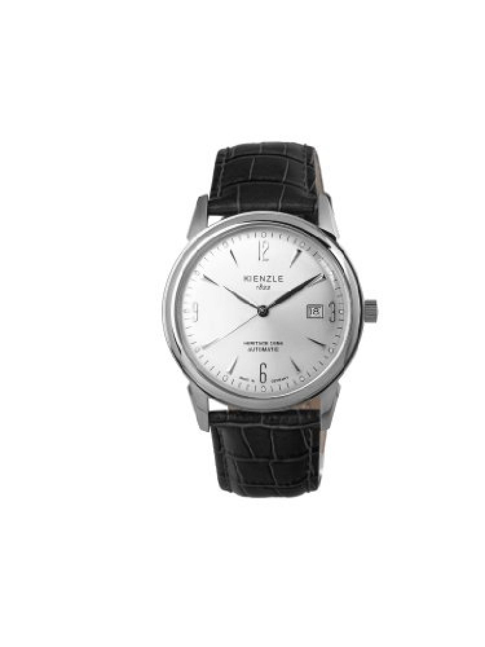 Kienzle Damen-Armbanduhr XS KIENZLE 1822 Automatik - Heritage 1956 Analog Automatik Lederarmband  Made in Germany K9112011031-00341