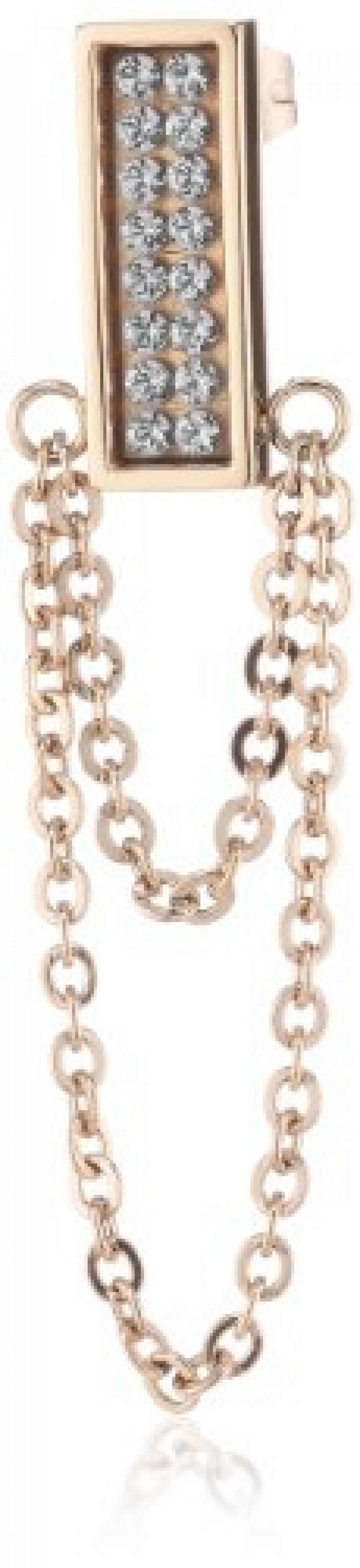Dyrberg/Kern Damen-Ohrhänger CASSINI RG CRYSTAL 333802