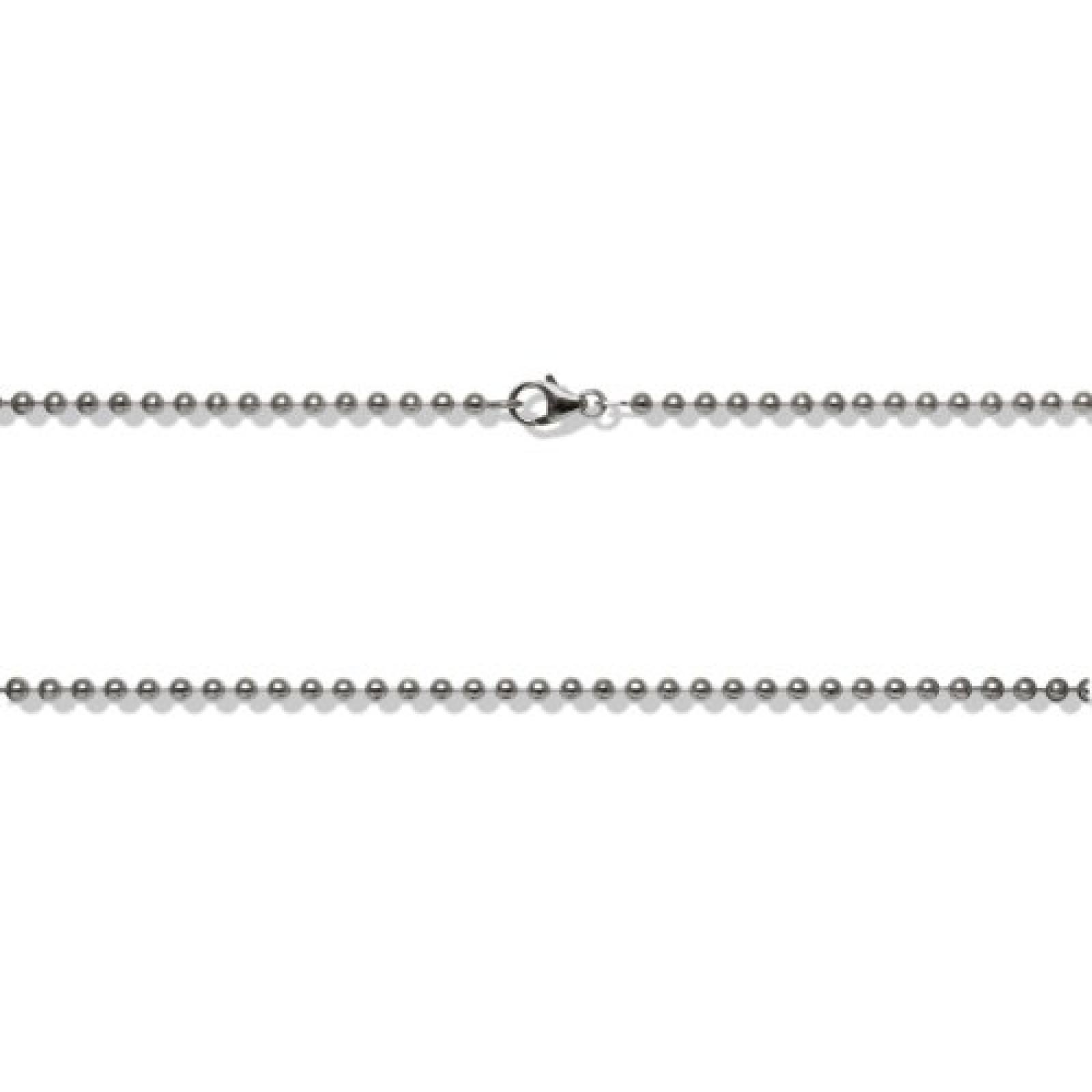 Rafaela Donata  Damen-Kugelkette Basic Collection 925 Sterling Silber 80 cm  60990087