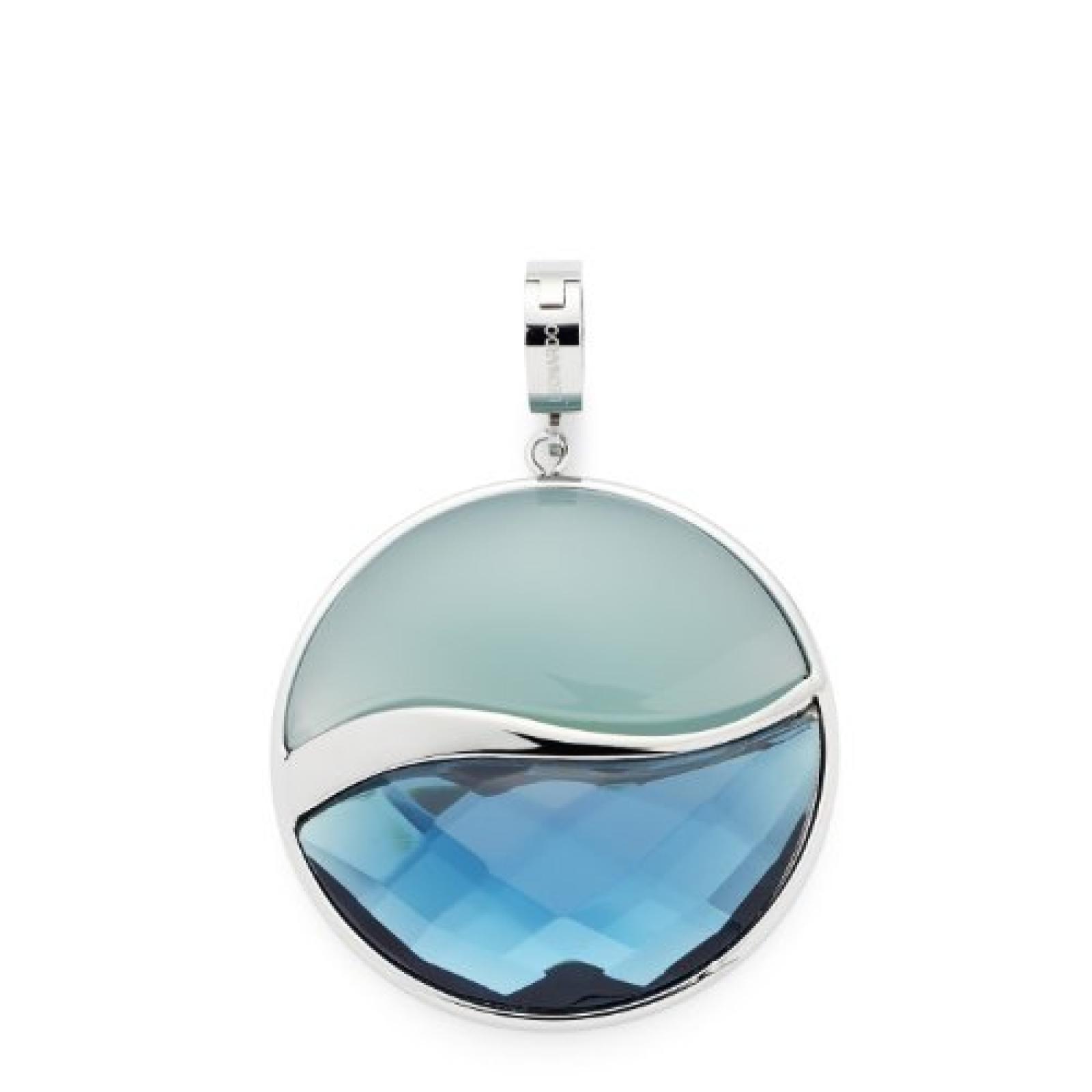 Leonardo Jewels Damen-Anhänger Edelstahl Glas Darlins 015220