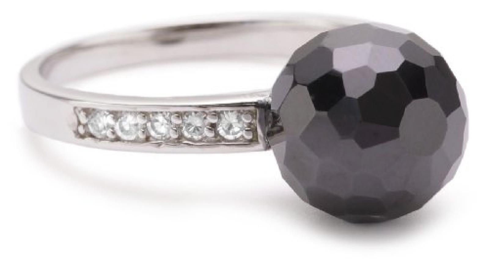 Rafaela Donata Ring Sterling Silber Zirkonia schwarz/weiß