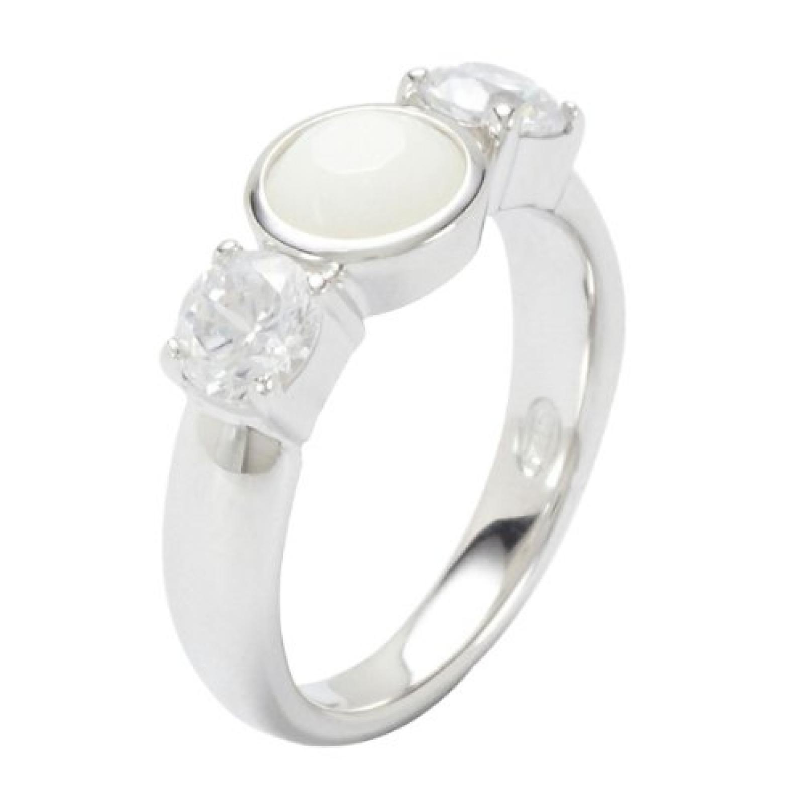 Fossil Damen-Ring 925 Sterling Silber Gr. 56 (17.8) JF18050040-8
