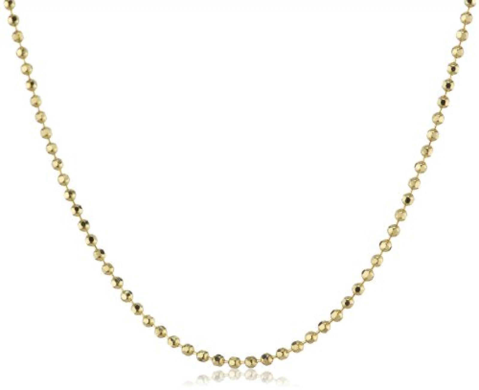 Amor Jewelry Damen-Halskette 8 Karat 333 Gelbgold 270618