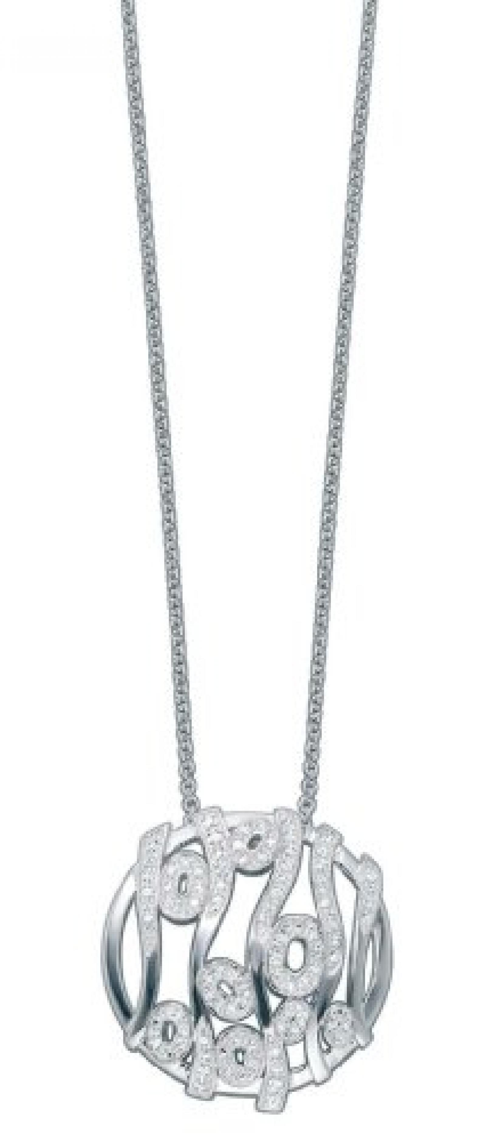 Pierre Cardin  Damen-Collier Sterling-Silber 925 45cm 4413369