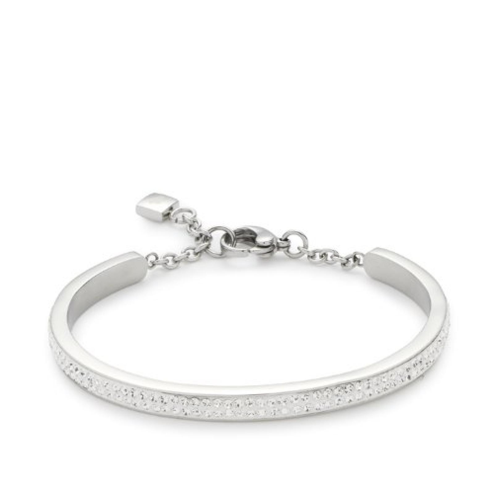 Leonardo Jewels Damen-Armreif Edelstahl Glas Brillante 015162