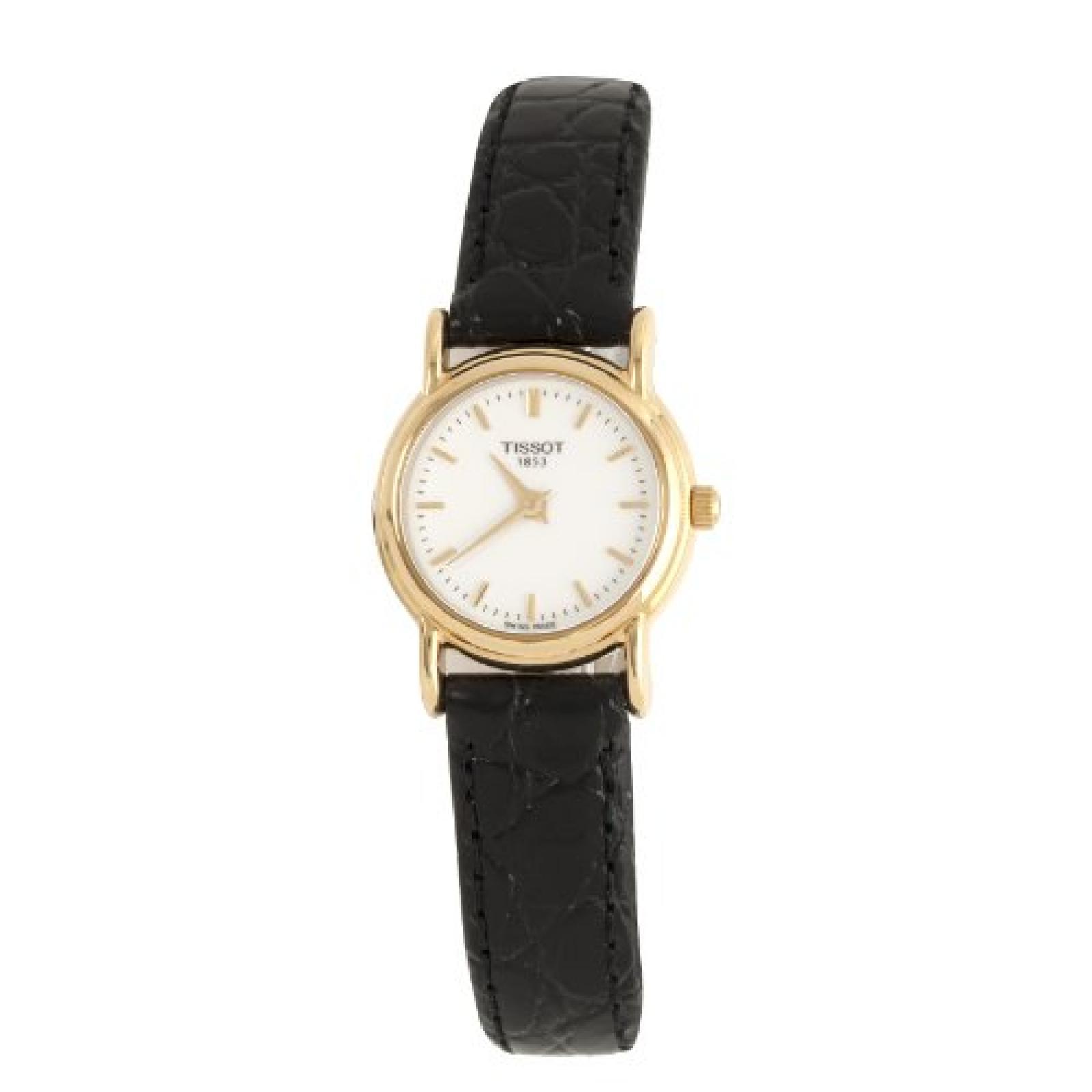 Tissot Damen-Armbanduhr Gold Carson T71318974