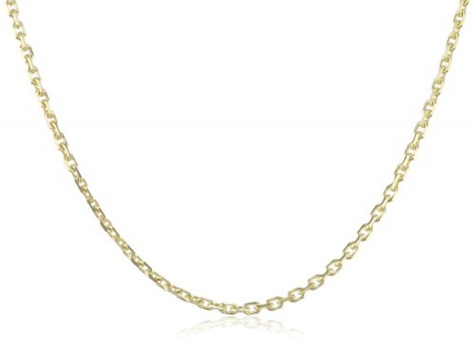 Amor Jewelry Unisex-Halskette 8 Karat 333 Gelbgold 74452