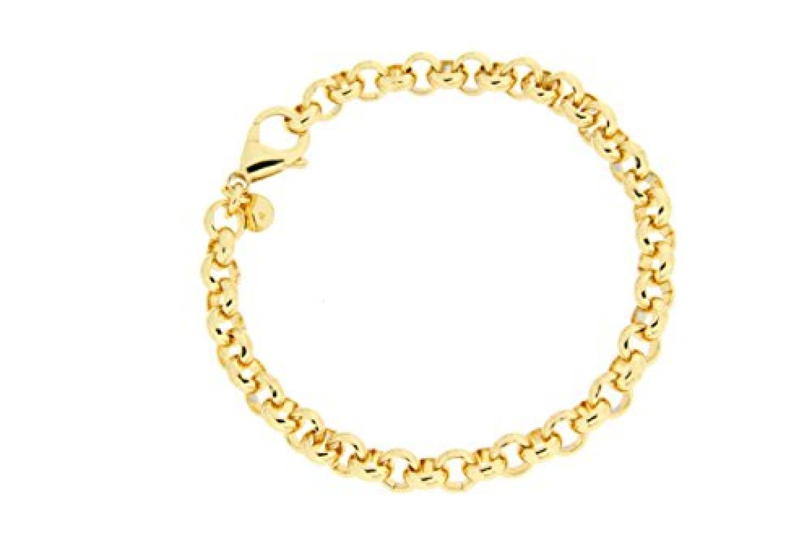 Kettenworld Damen Armband Bronze 21 cm 253434
