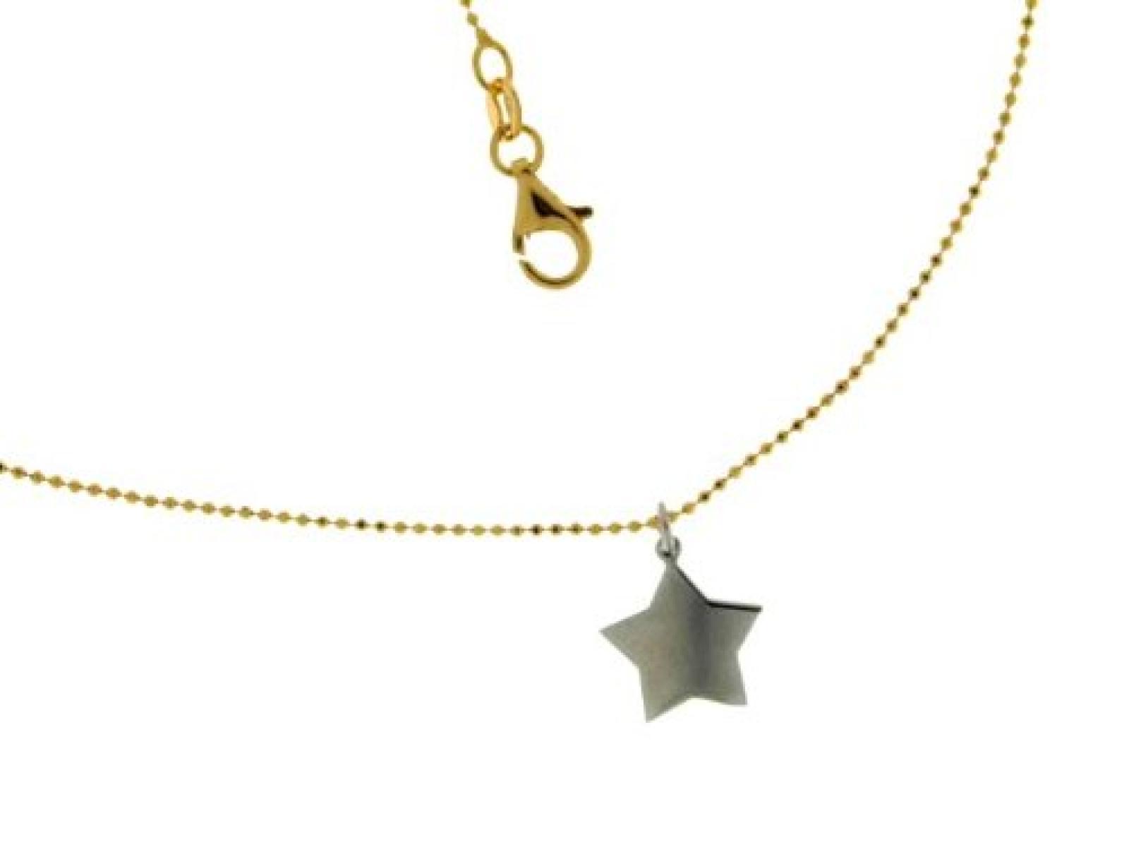 Kettenworld Damen Halskette 925 Sterling Silber 45 cm 316108