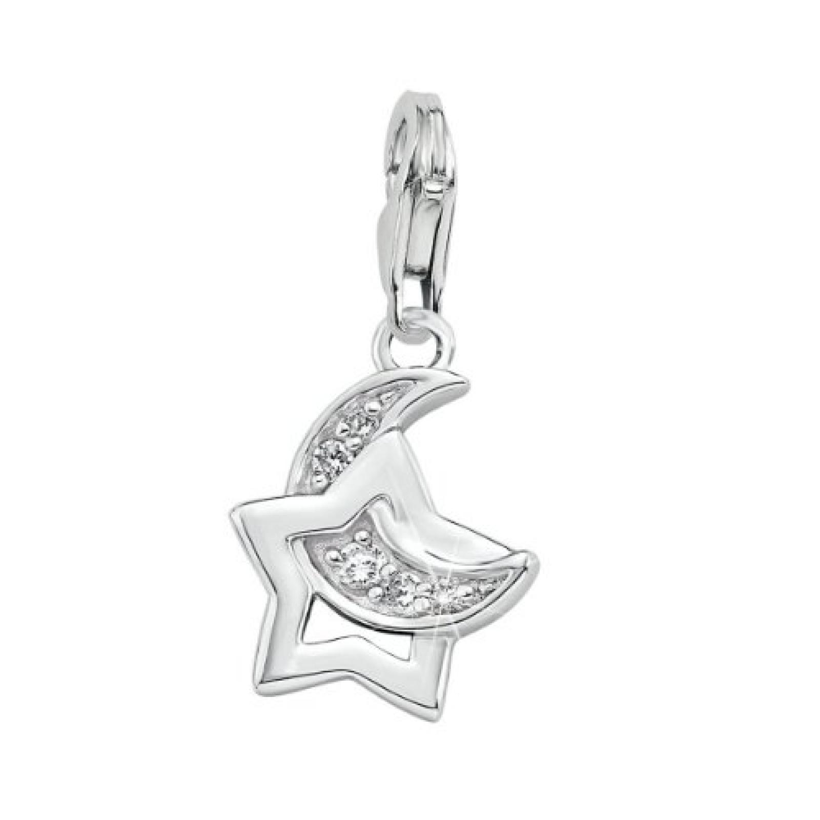 s.Oliver Jewels Damen-Charm 925 Sterling Silber 465212