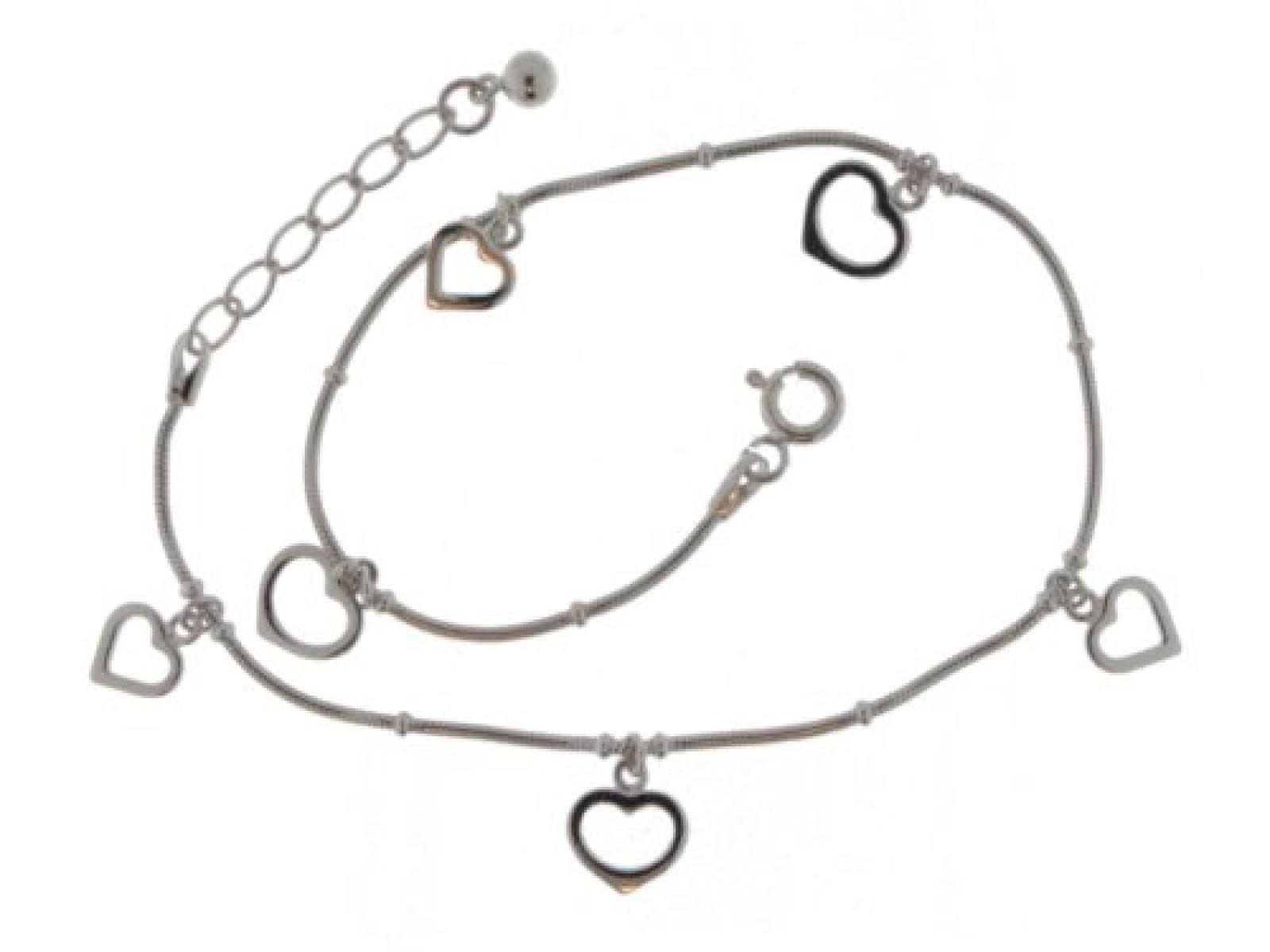 ZEEme Damenfußkette 925/- Sterling Silber 24+2cm 299200019R
