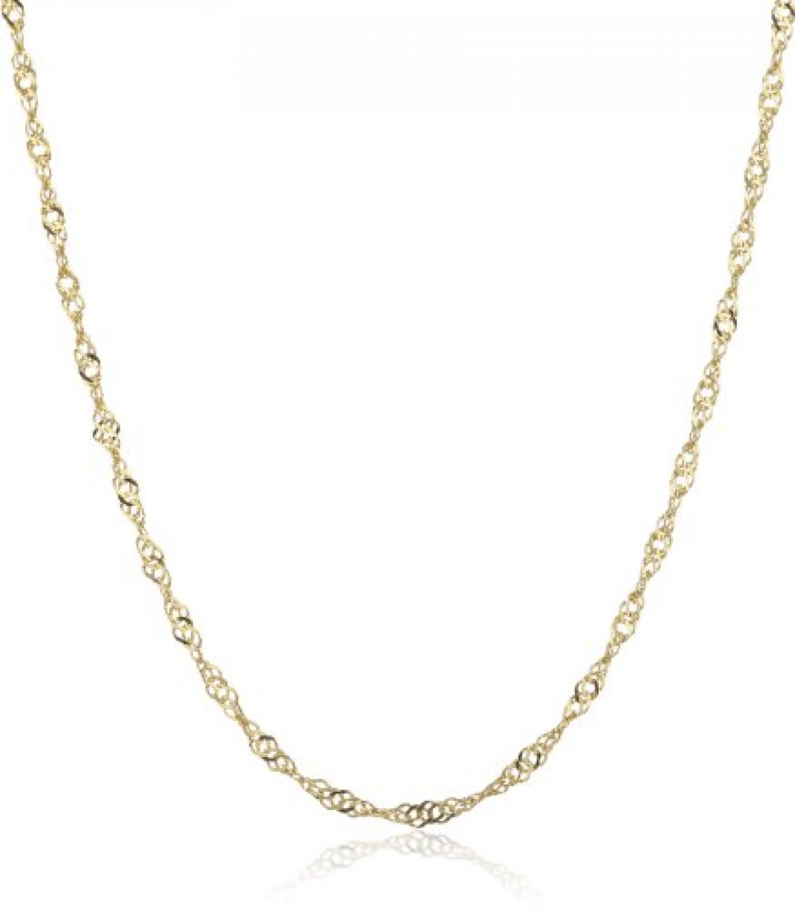 Amor Jewelry Damen-Halskette 8 Karat 333 Gelbgold 383226