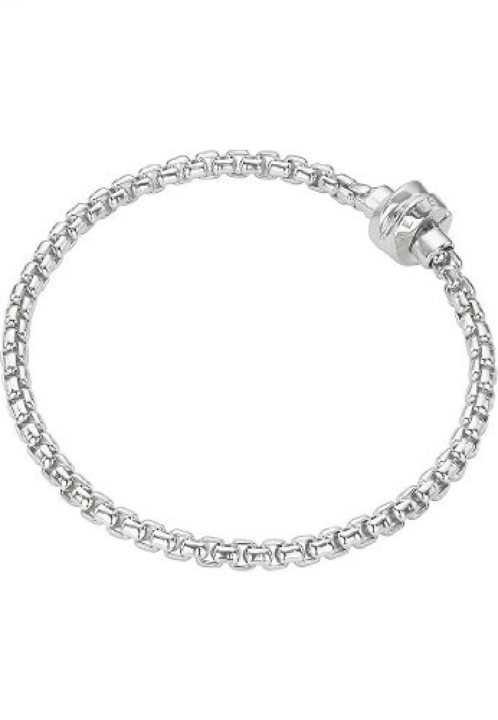 JETTE Pure Passion Damen-Armband für Charms Armband Silber (silber)