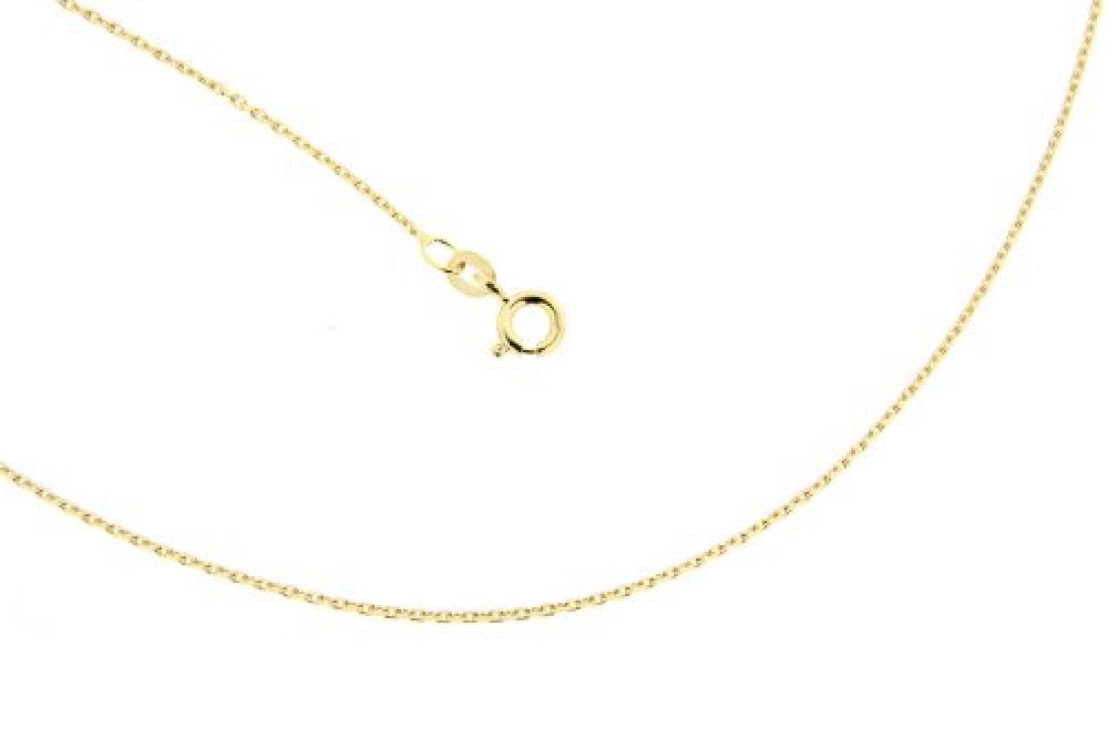 BOB C. Damen Halskette 14 Karat (585) Gelbgold 45.0 cm 259232