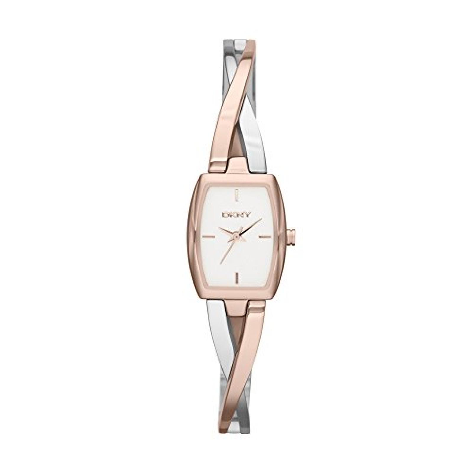 DKNY Damen-Armbanduhr XS Analog Quarz Edelstahl beschichtet NY2236