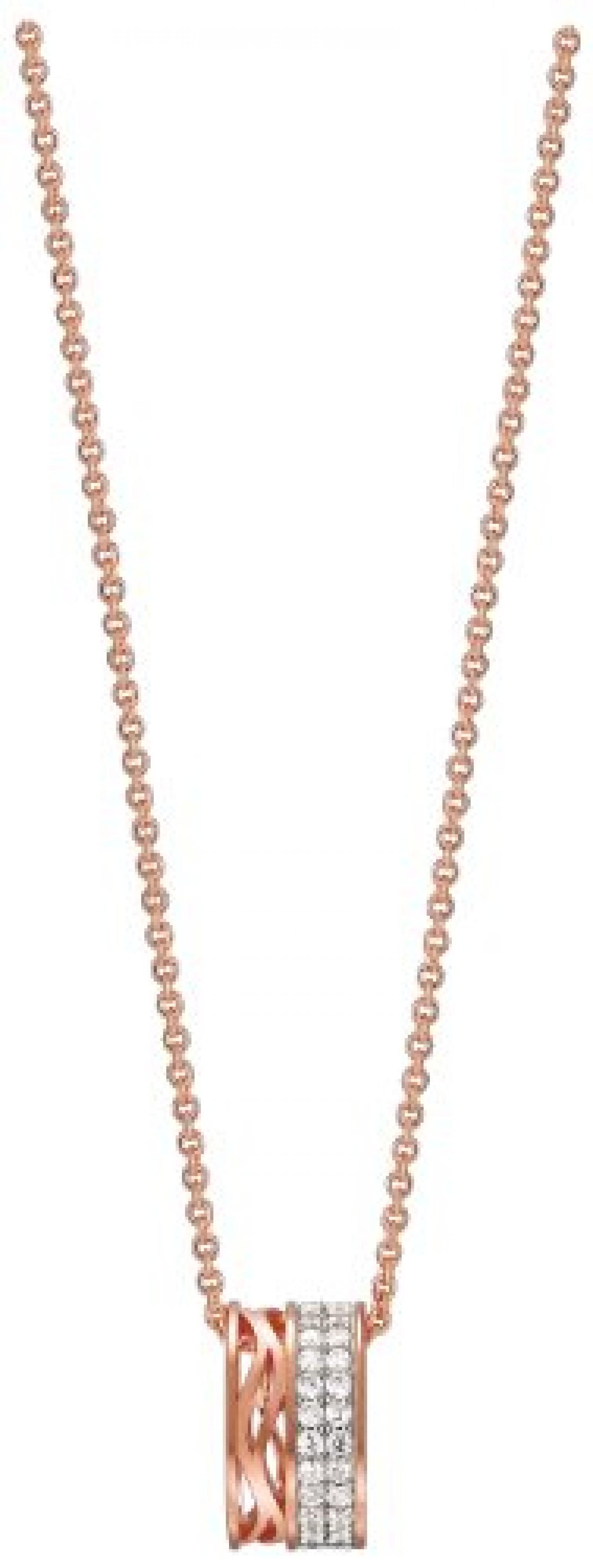 Pierre Cardin Damen-Kette Vague Mousseux 925 Sterling Silber 45 cm PCNL90435C420