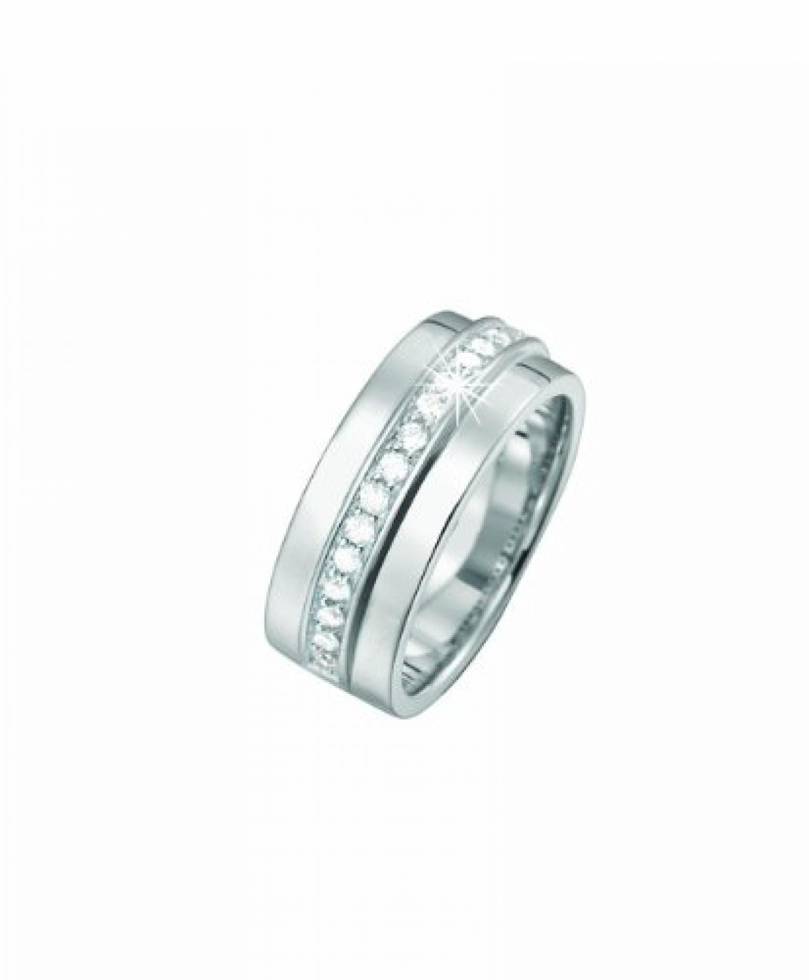 Pierre Cardin Damen-Ring Les Rondelles Sterling-Silber 925 PCRG90221A