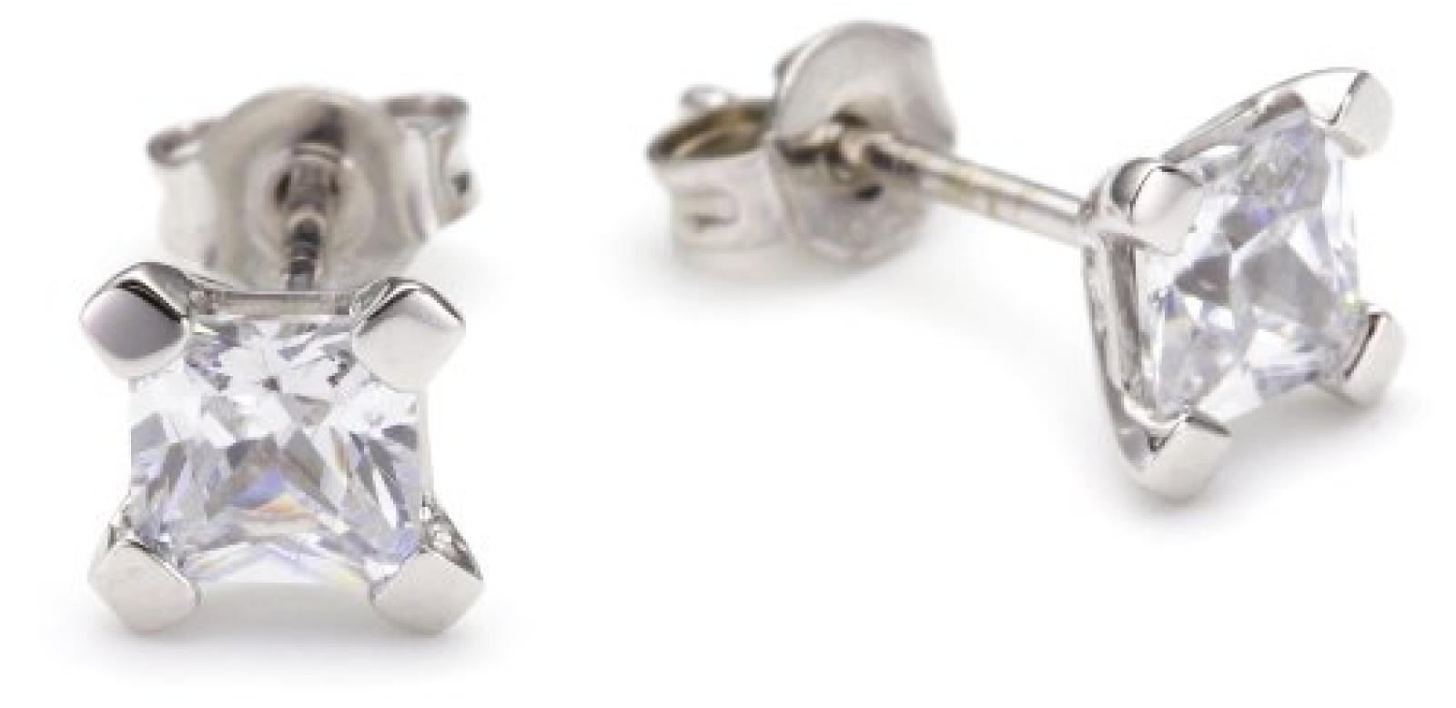 Viventy Damen-Ohrstecker 925 Sterling Silber mit Zirkonia 695424