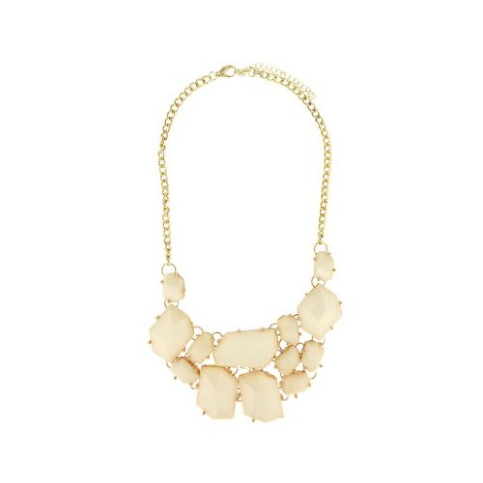 Sweet Deluxe Damen-Halskette Rita gold weiß Messing 2513