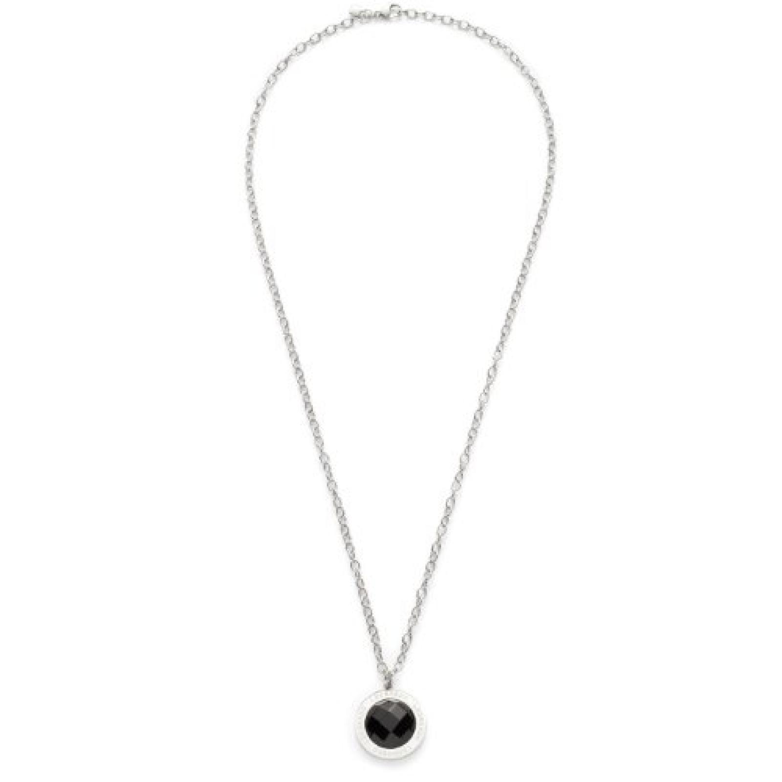Leonardo Jewels Classic Damen-Halskette lang schwarz Matrix 013942