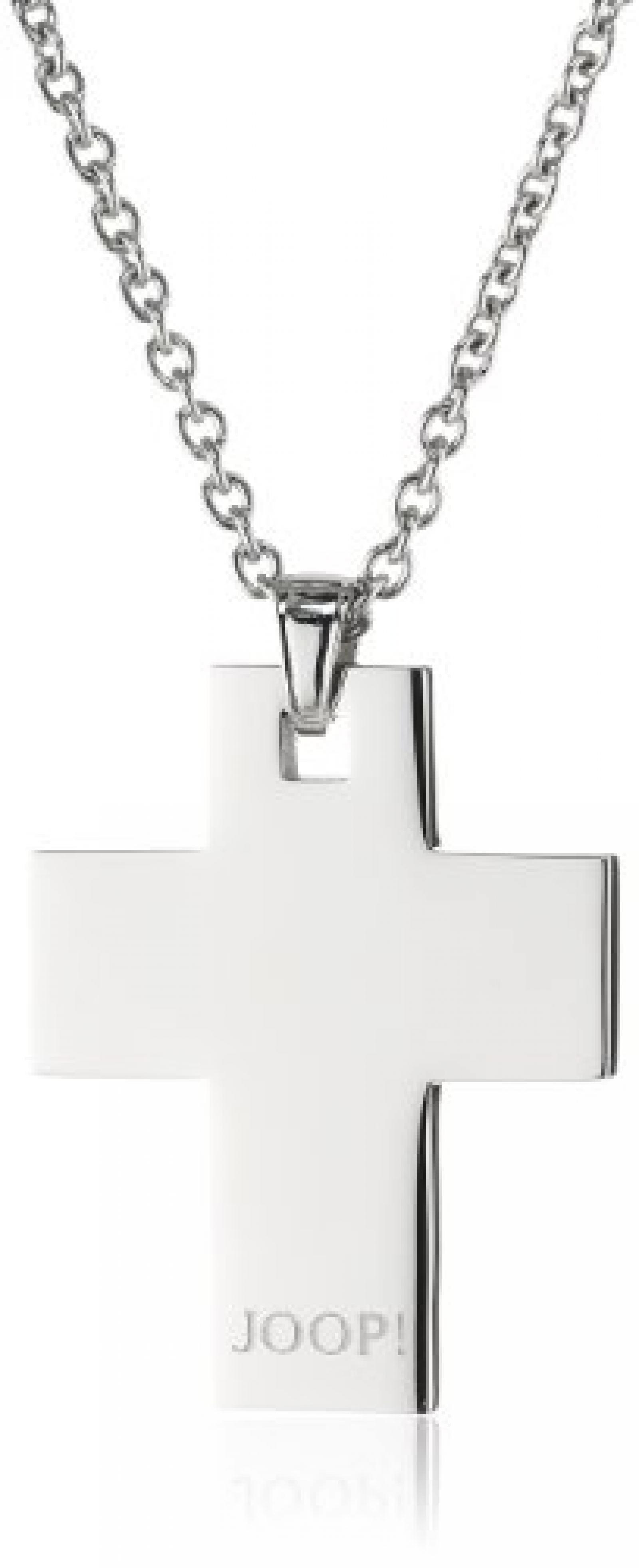 Joop Damen-Halskette Cross Edelstahl ca. 48 cm (45 + 3 cm) JPNL10560A420