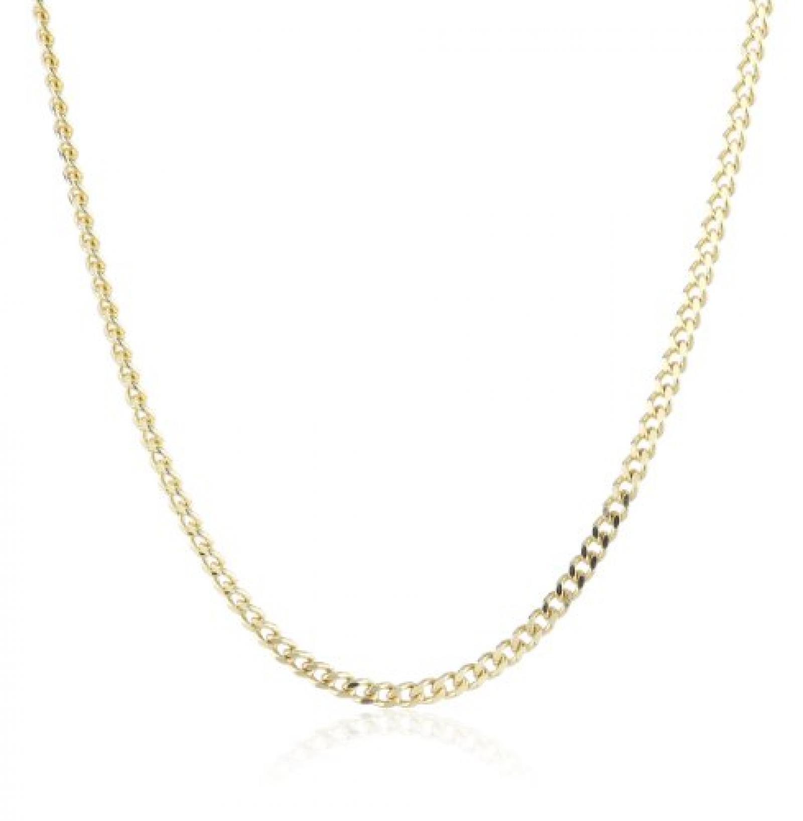 Amor Jewelry Unisex-Halskette 14 Karat 585 Gelbgold 74094