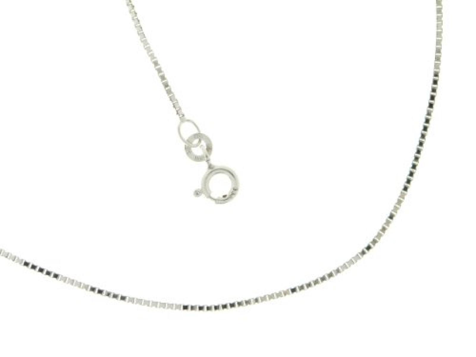BOB C. Damen Halskette 8 Karat (333) Weißgold 50.0 cm 326966