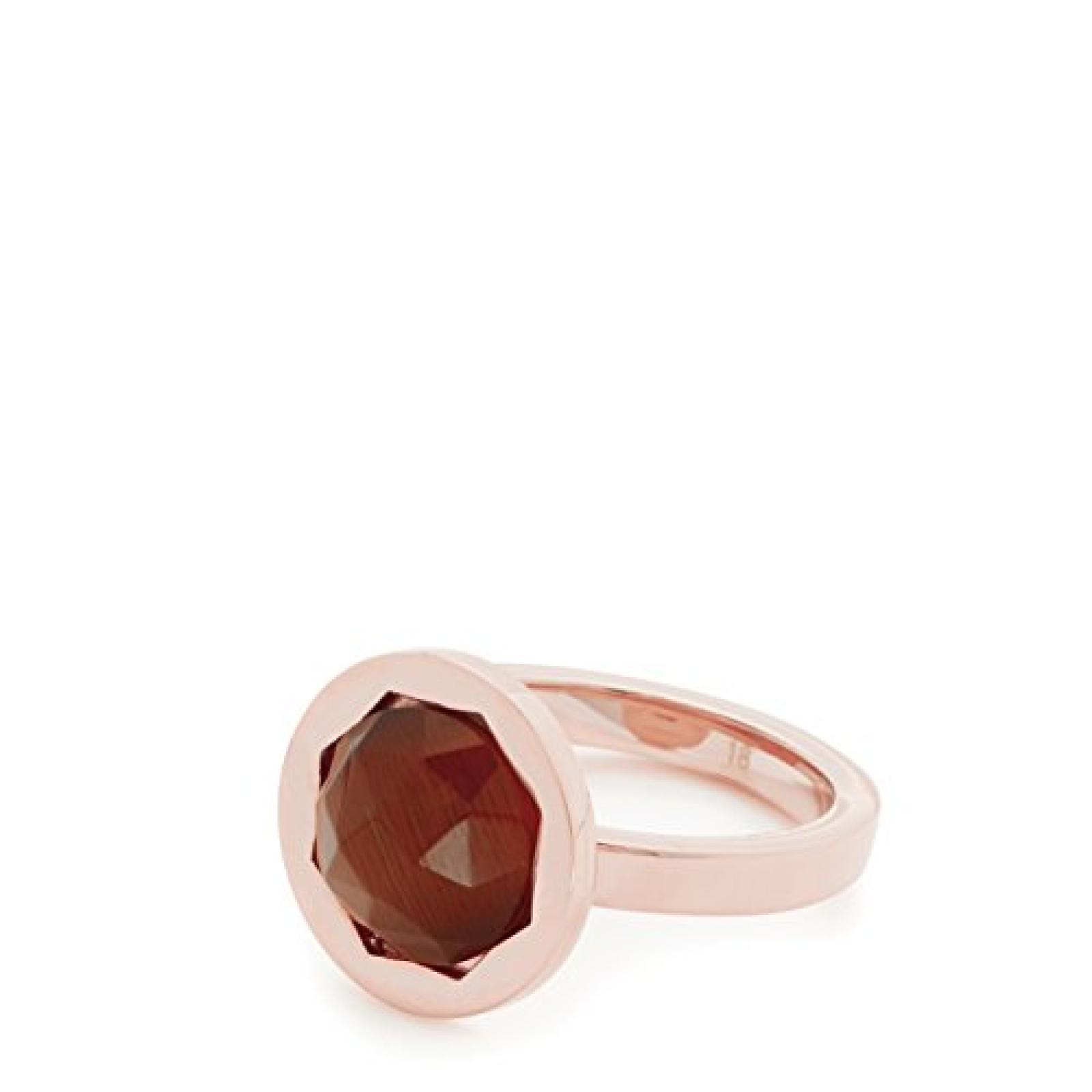 Leonardo Jewels Damen-Ring Edelstahl Glas Classico 01533