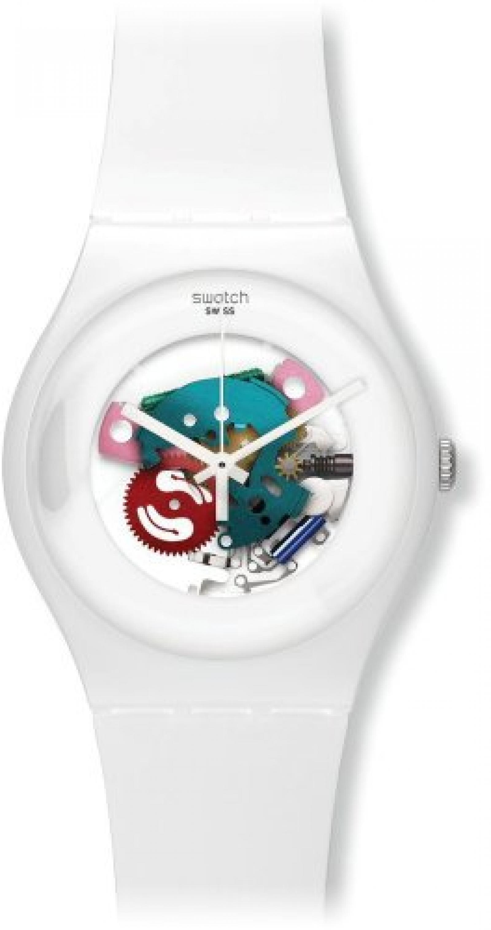 Swatch New Gent - White Lacquered SUOW100