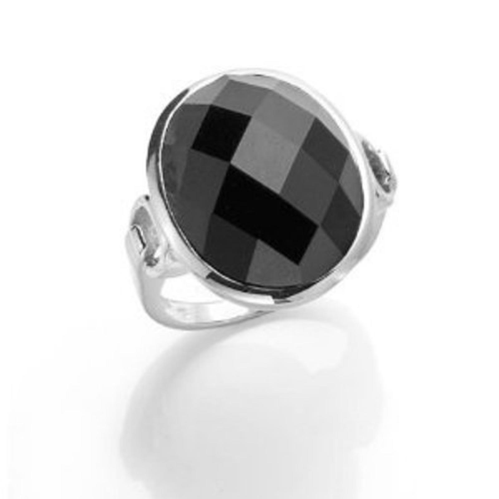 Celesta Damen-Ring 925 Sterlingsilber synth. Onyx Gr. 60 (19.1) 360270916060