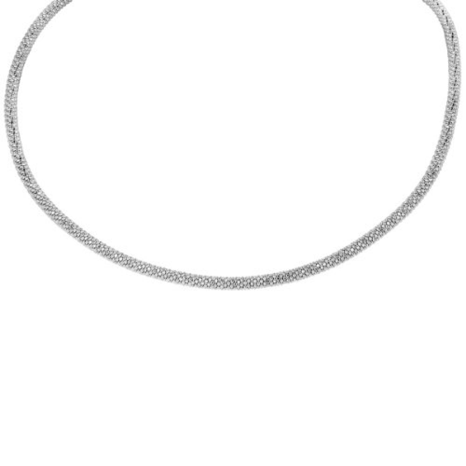 Bella Donna Damen Halskette 925 Sterling Silber 43.0 cm 61484309