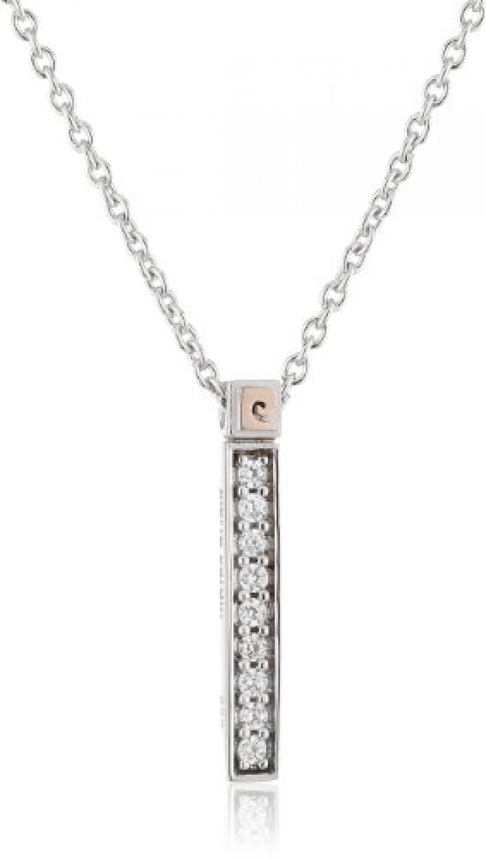 Pierre Cardin Damen-Kette Impression 925 Sterling Silber 45 cm PCNL90431B420