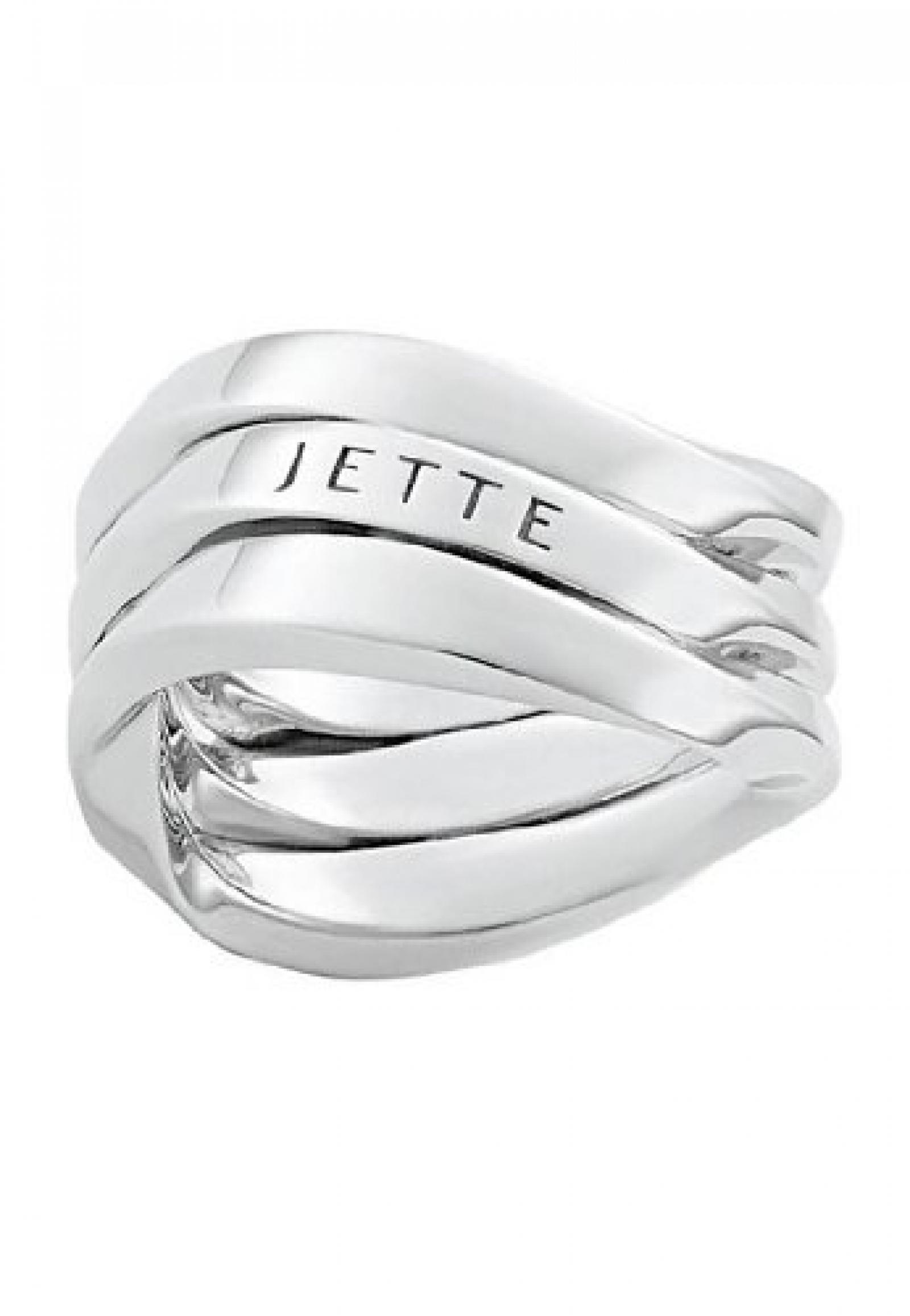 JETTE Silver Damen-Ring Verve 925er Silber (silber)