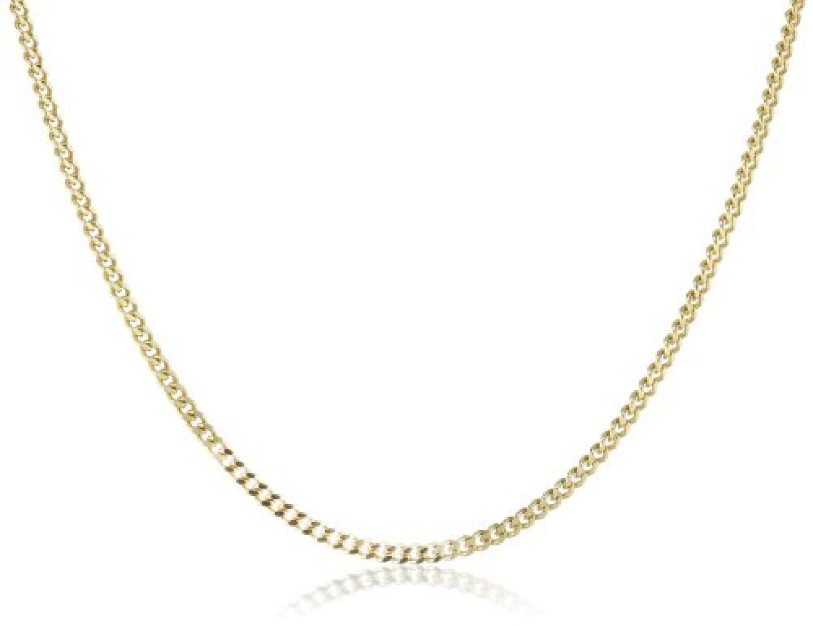 Amor Jewelry Unisex-Halskette 8 Karat 333 Gelbgold 74308