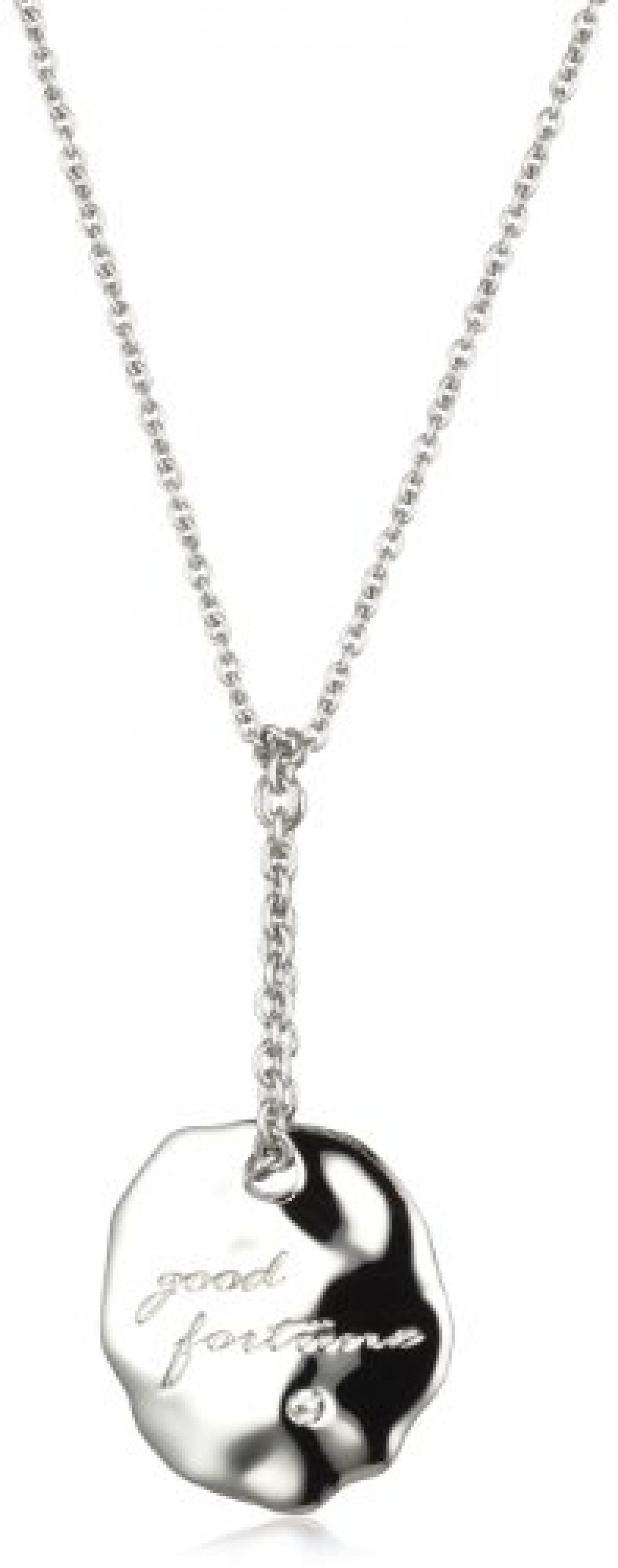 Dyrberg/Kern Damen-Halsschmuck Blenda Ss 80cm Crystal