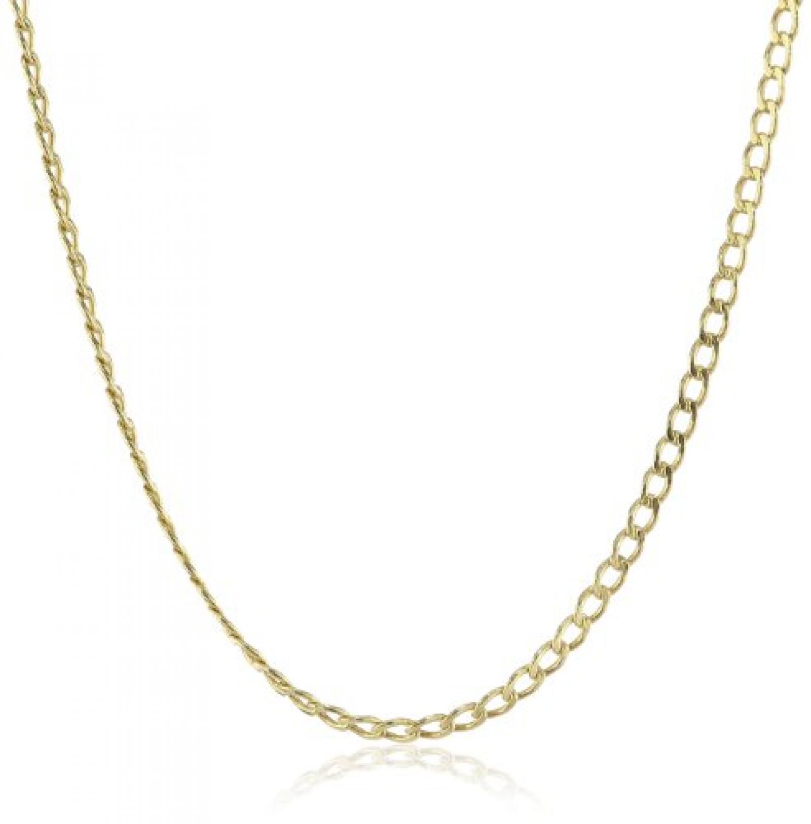 Amor Jewelry Damen-Halskette 14 Karat 585 Gelbgold 430012