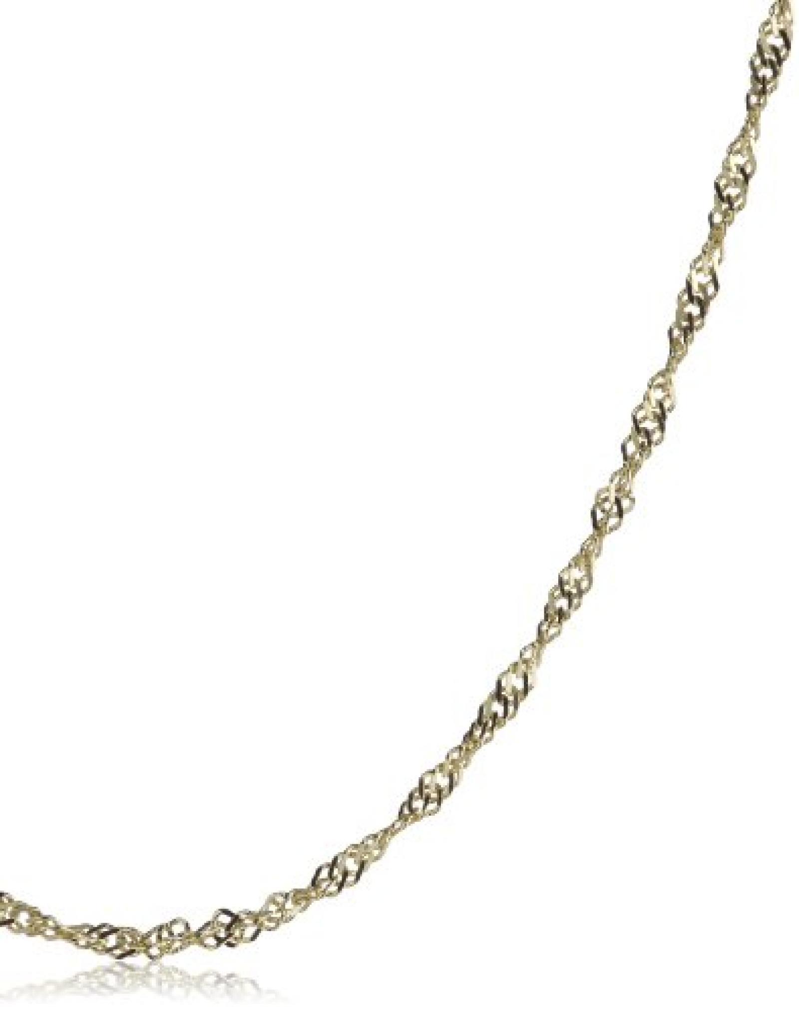 BOB C. Damen-Halskette ohne Anhänger Singapur 8 Karat 333 Gelbgold 323036