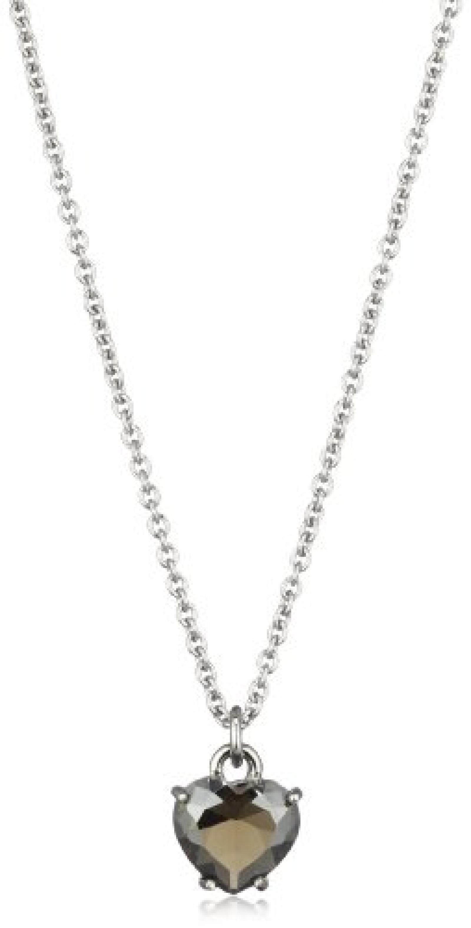 Dyrberg/Kern Damen-Halskette Jennara Ss Grey 40cm 332212