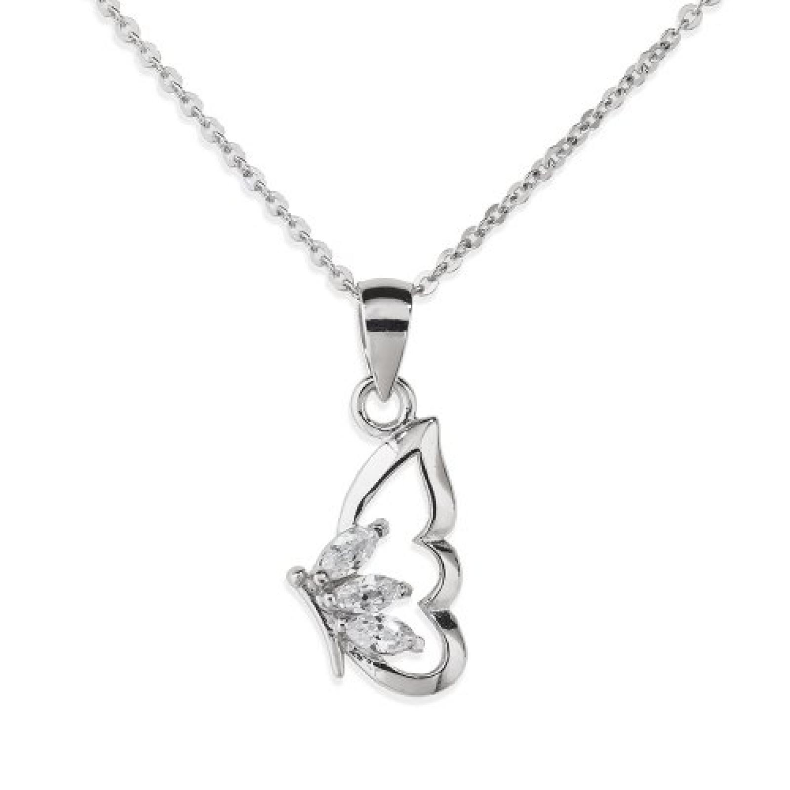 Amor Jewelry Damen-Halskette 925 Sterling Silber 382151