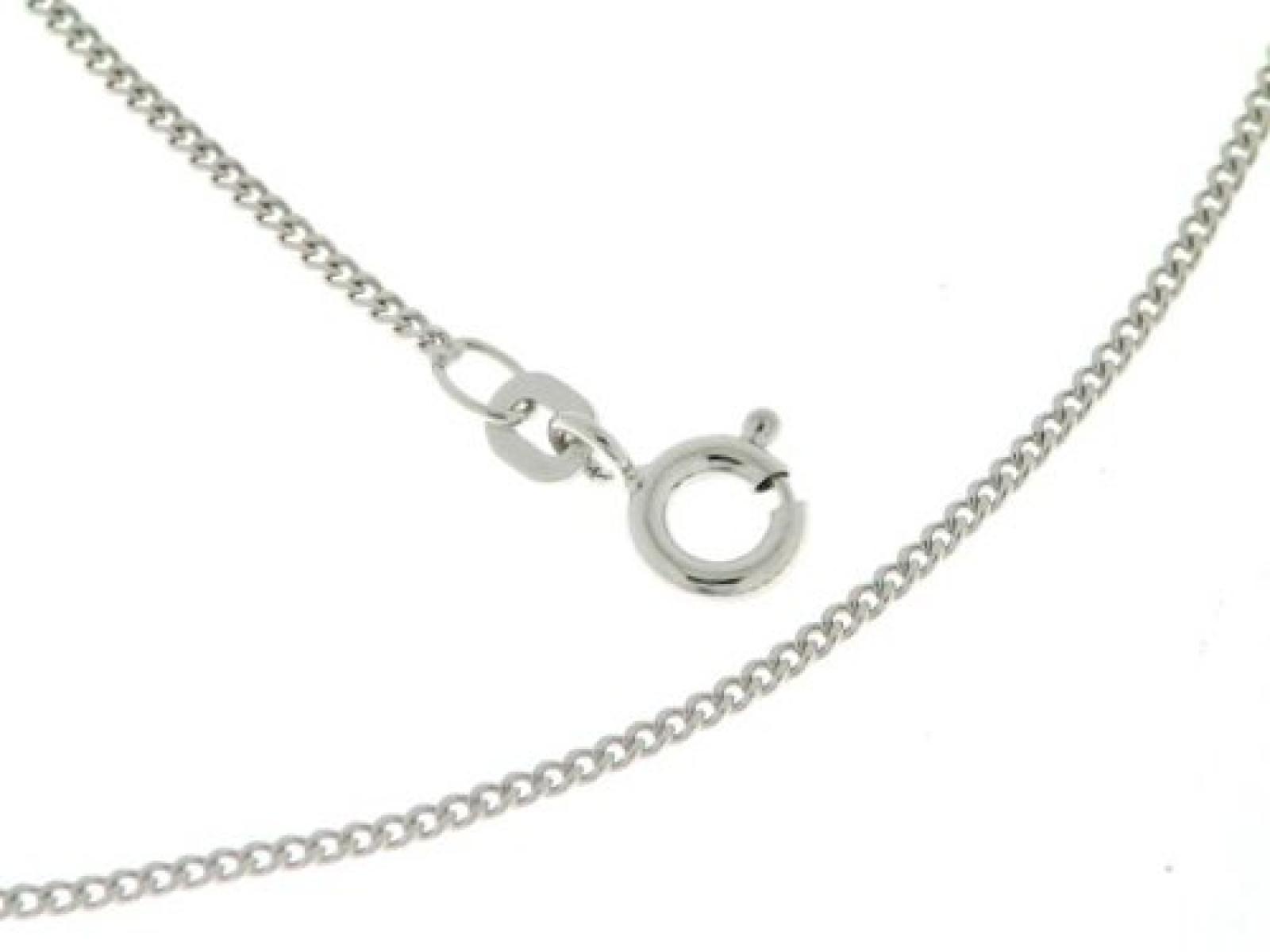 BOB C. Damen-Halskette ohne Anhänger Panzer 8 Karat -333 Weißgold 326947